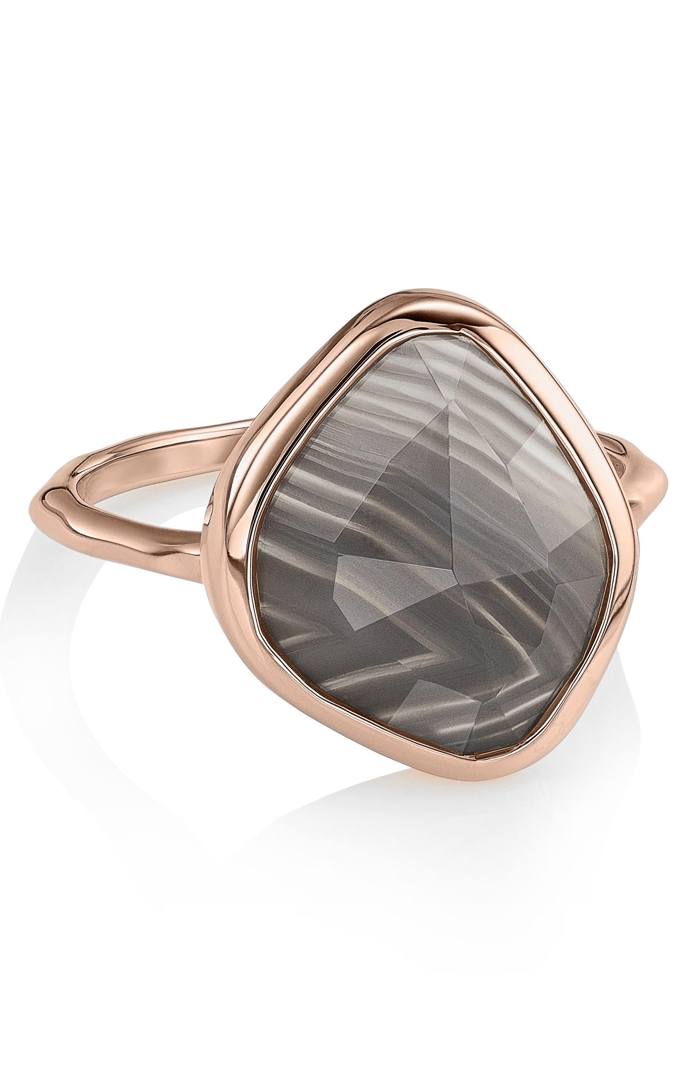 Alternate Image 3  - Monica Vinader Siren Nugget Semiprecious Stone Ring