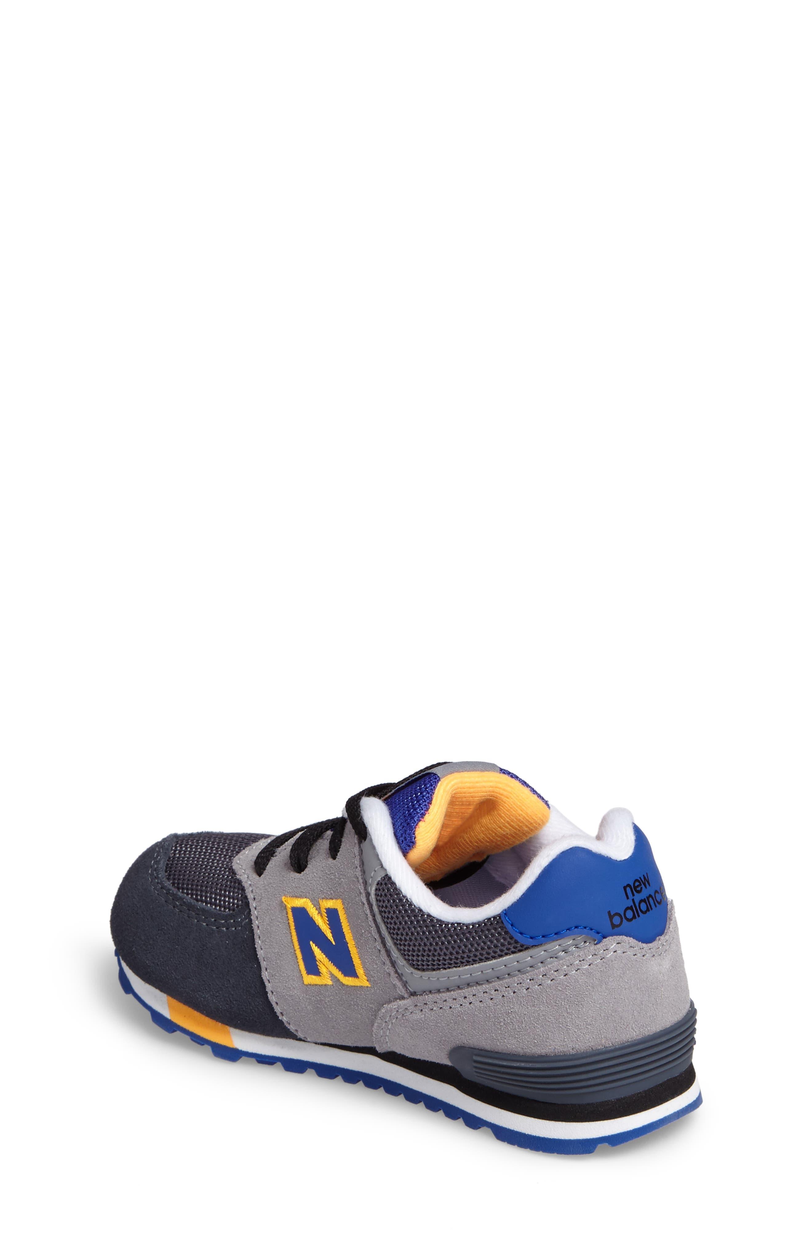 Alternate Image 2  - New Balance 574 Cut & Paste Sneaker (Baby, Walker & Toddler)