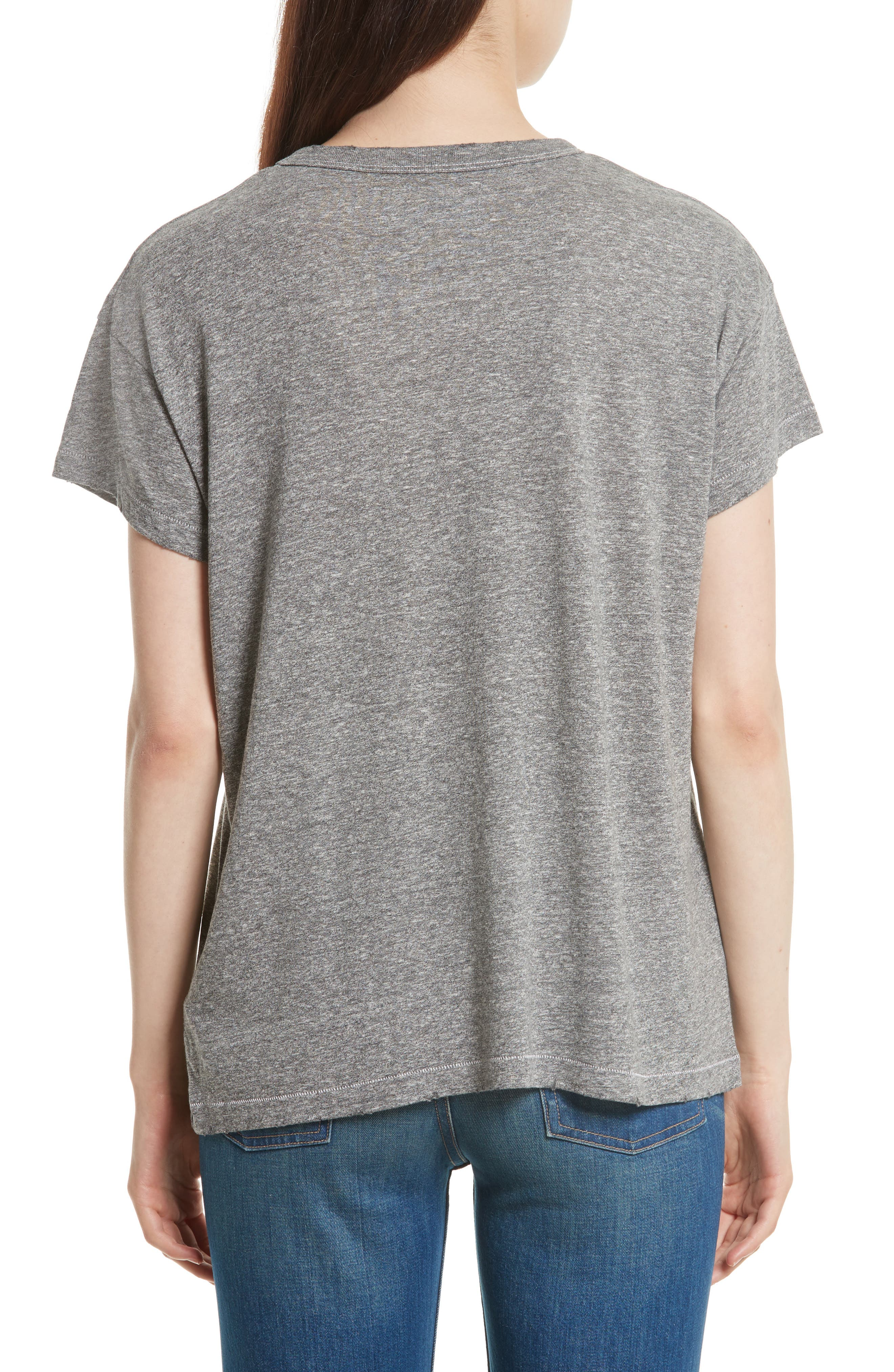 The Boxy Crew Graphic Tee,                             Alternate thumbnail 2, color,                             Grey
