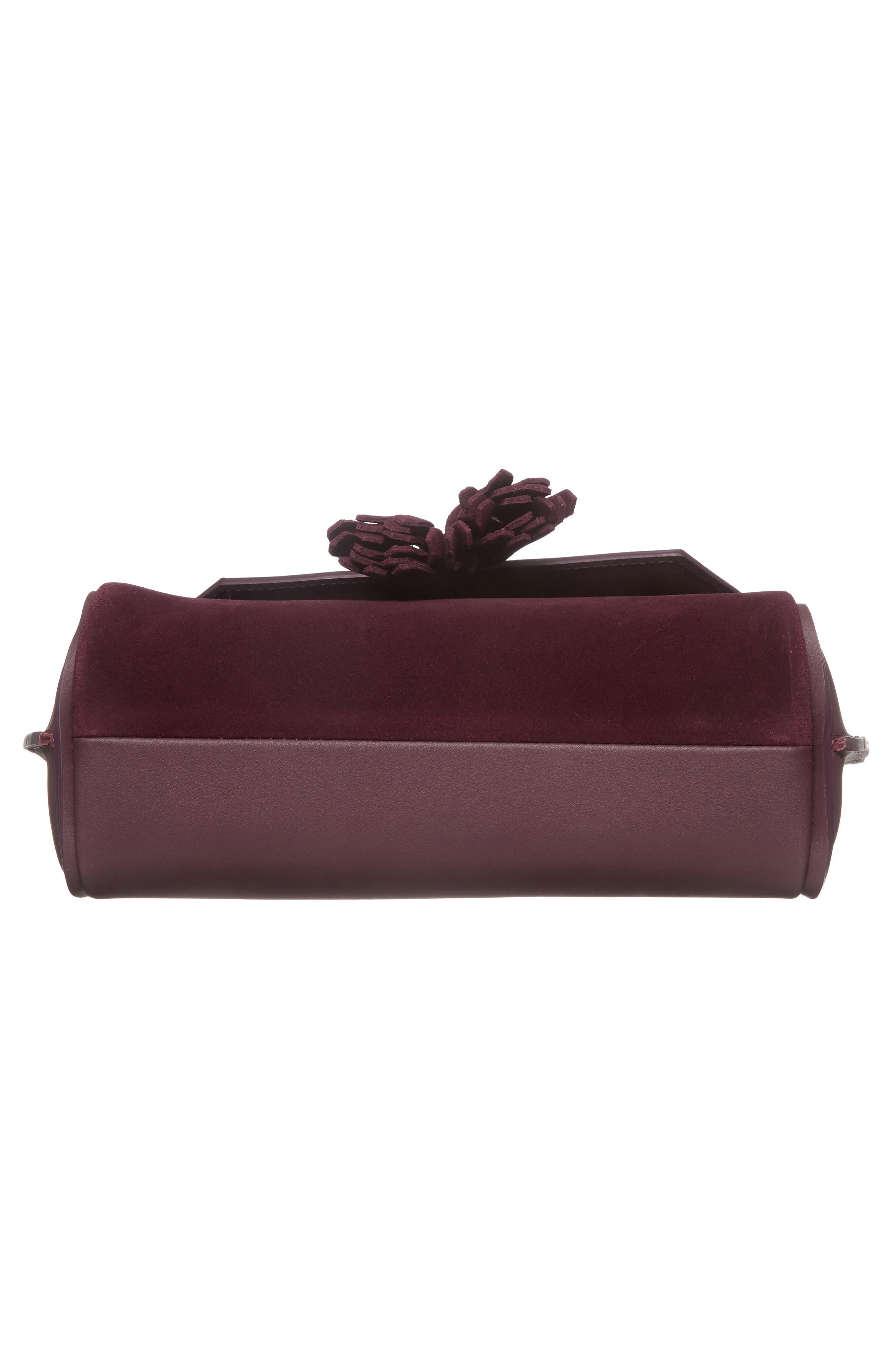 Alternate Image 6  - Longchamp Small Penelope Leather Crossbody Bag