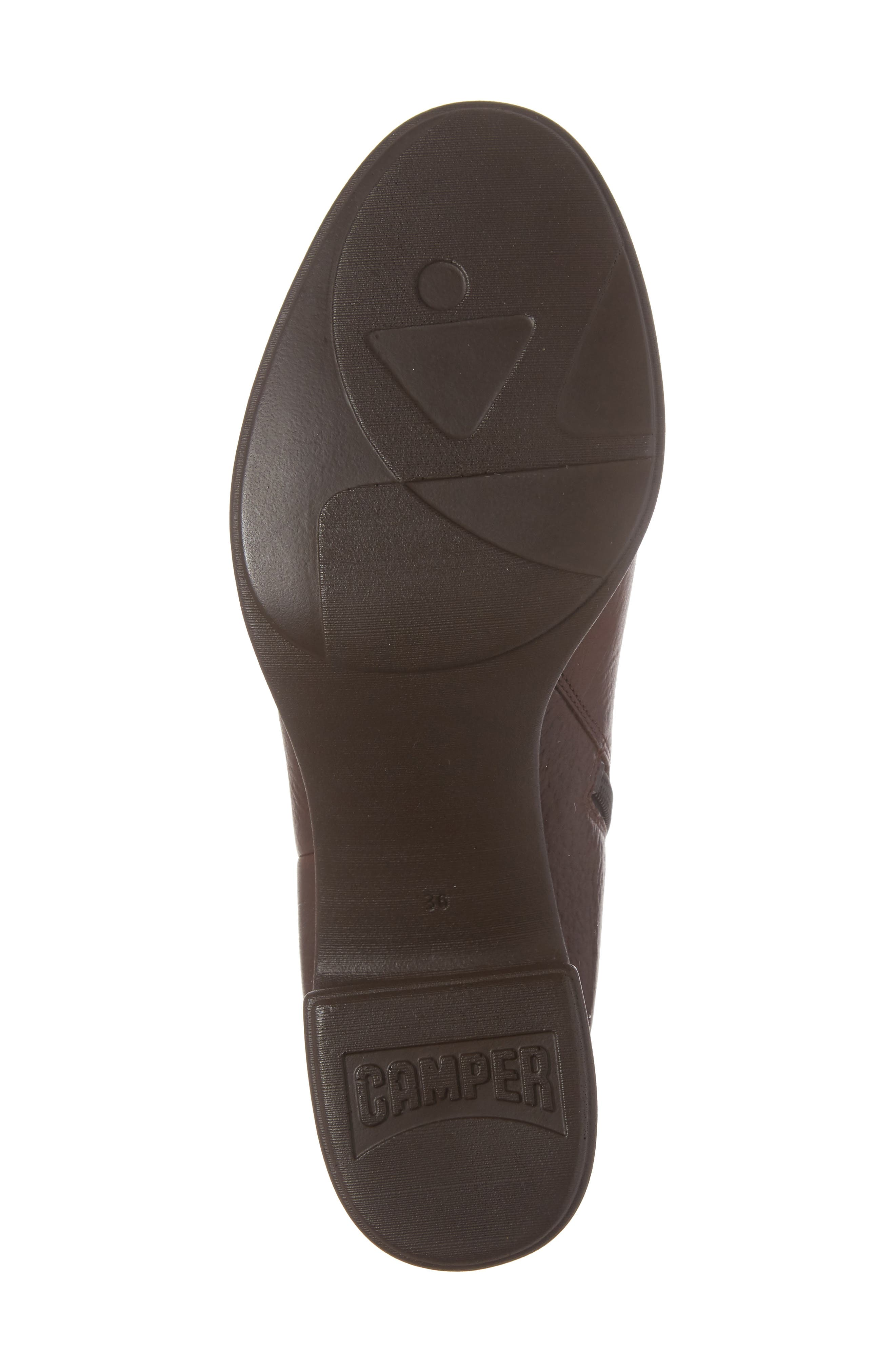 Alice Platform Boot,                             Alternate thumbnail 6, color,                             Medium Brown Leather