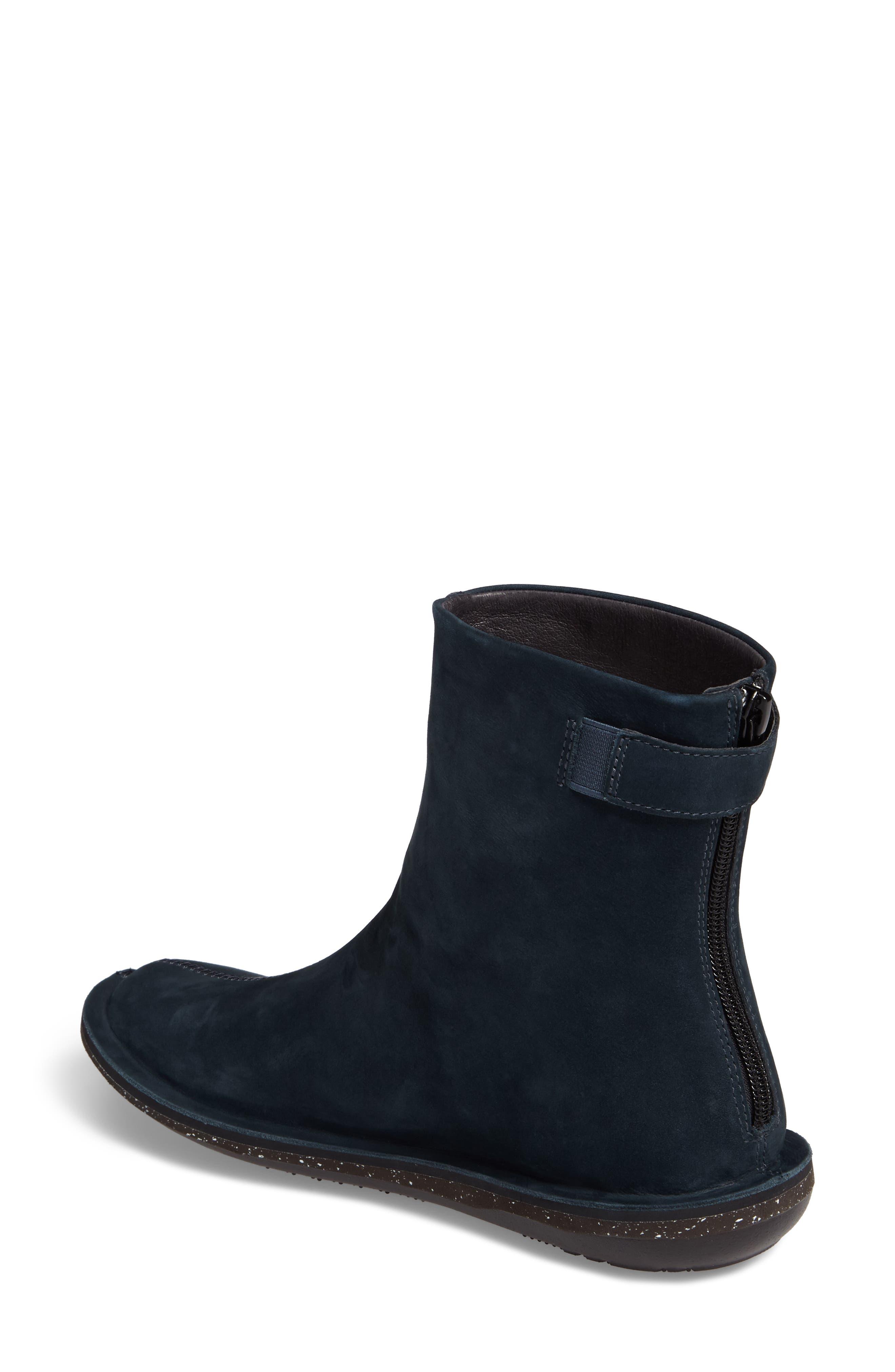 'Beetle Mid' Boot,                             Alternate thumbnail 2, color,                             Dark Blue Leather