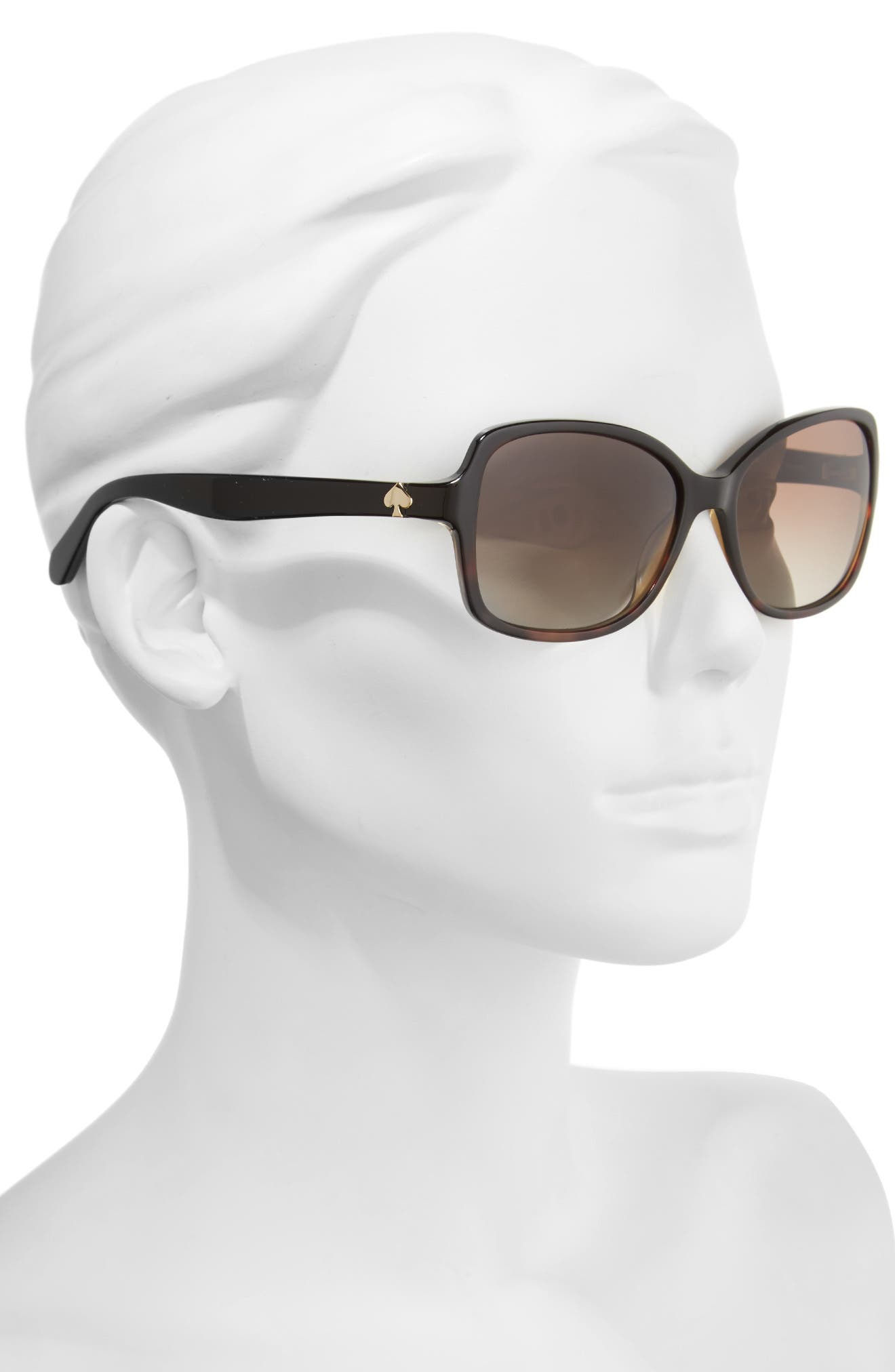 Alternate Image 2  - kate spade new york ayleen 56mm polarized sunglasses