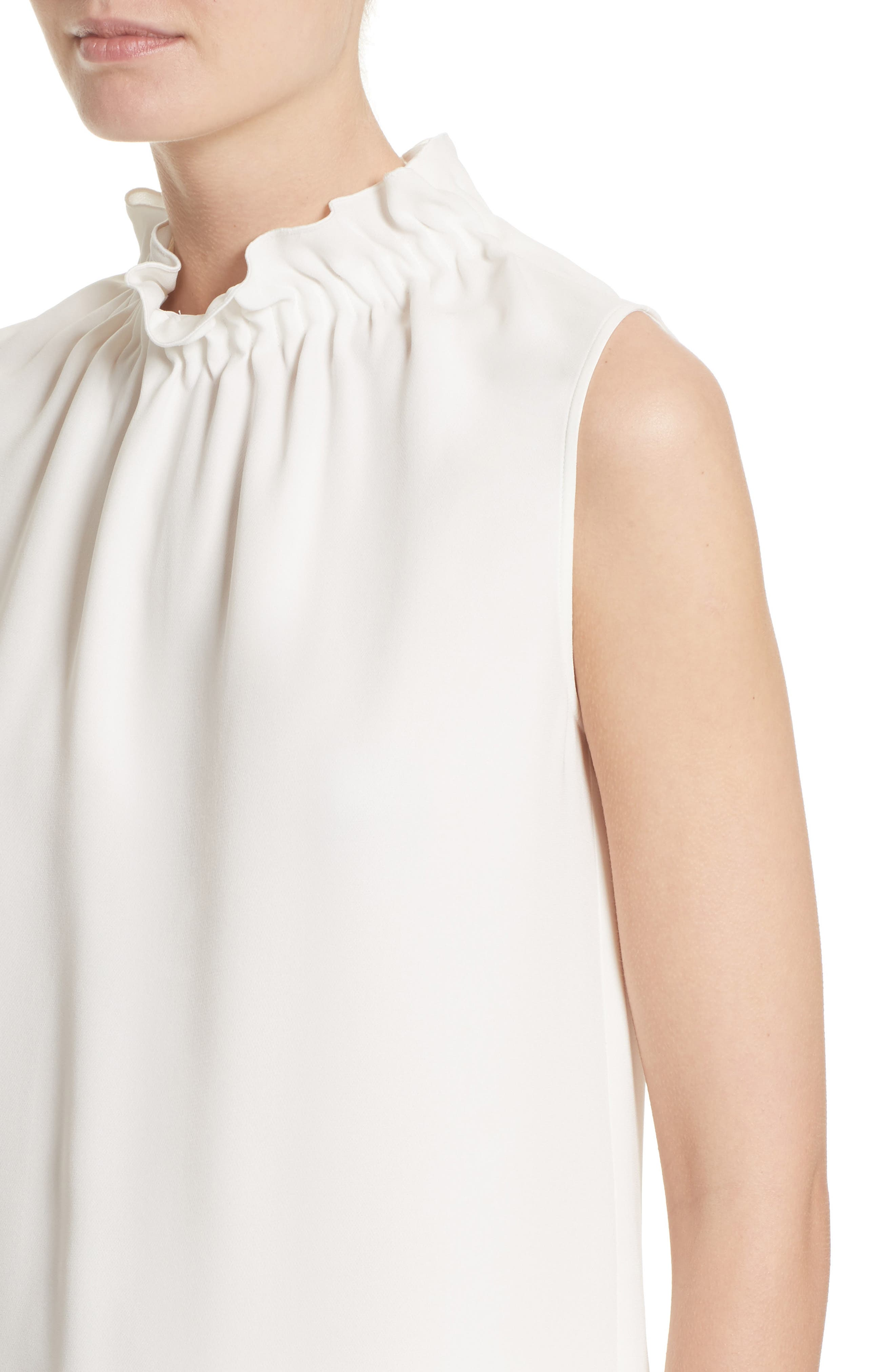 Alternate Image 4  - Lafayette 148 New York Percy Silk Double Georgette Blouse