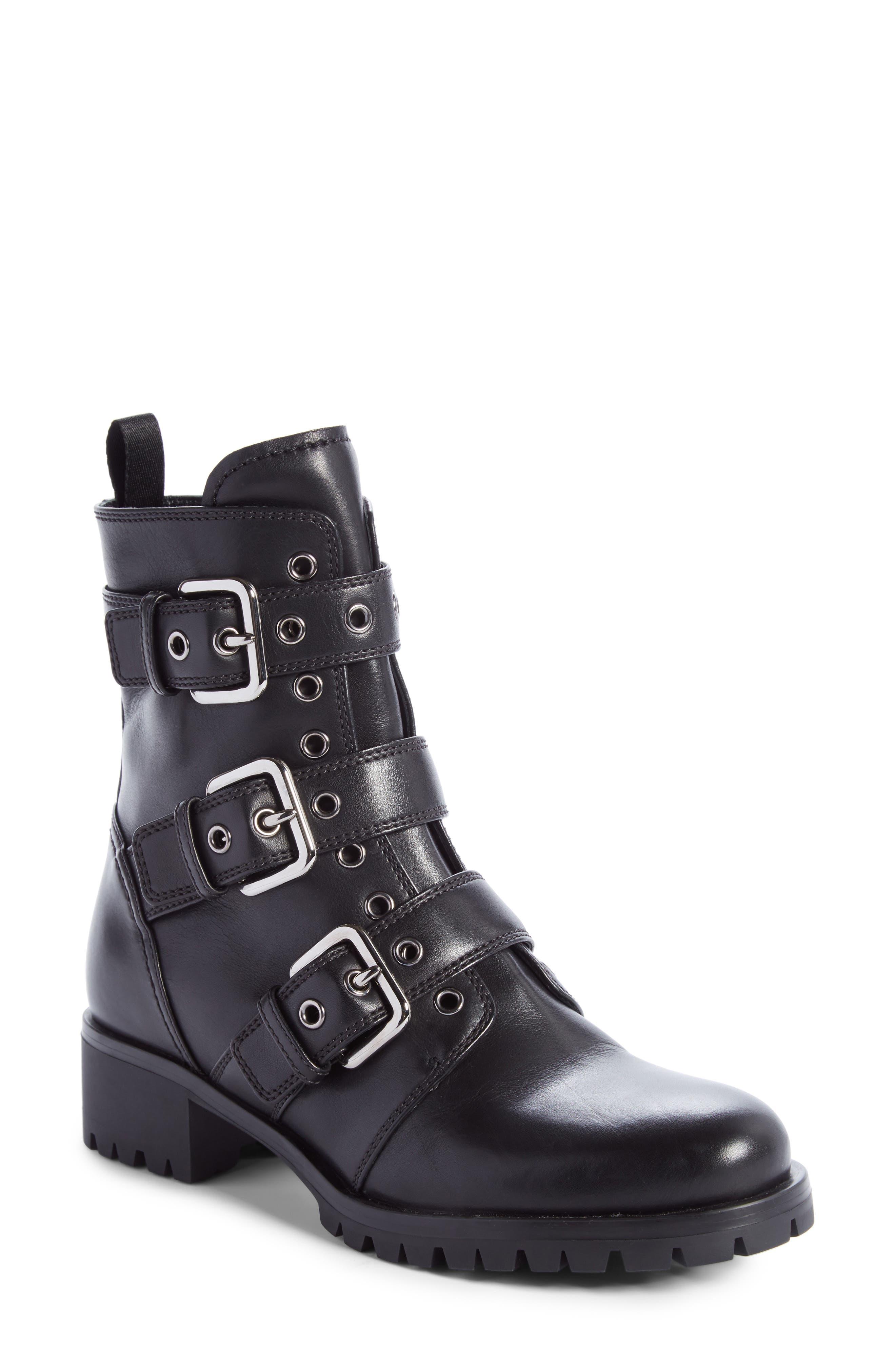 PRADA Buckle Boot