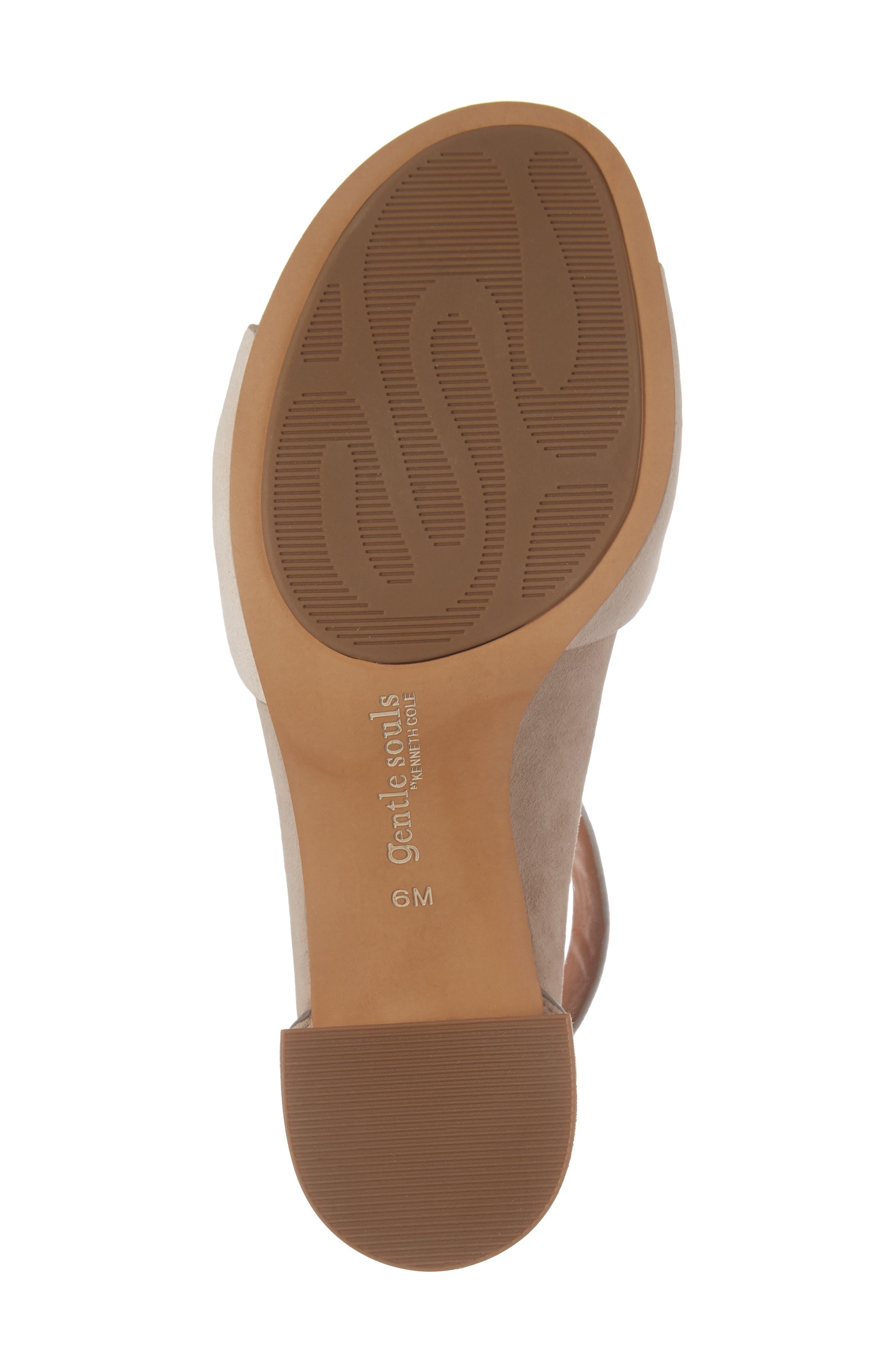 Alternate Image 6  - Gentle Souls Christa Block Heel Sandal (Women)