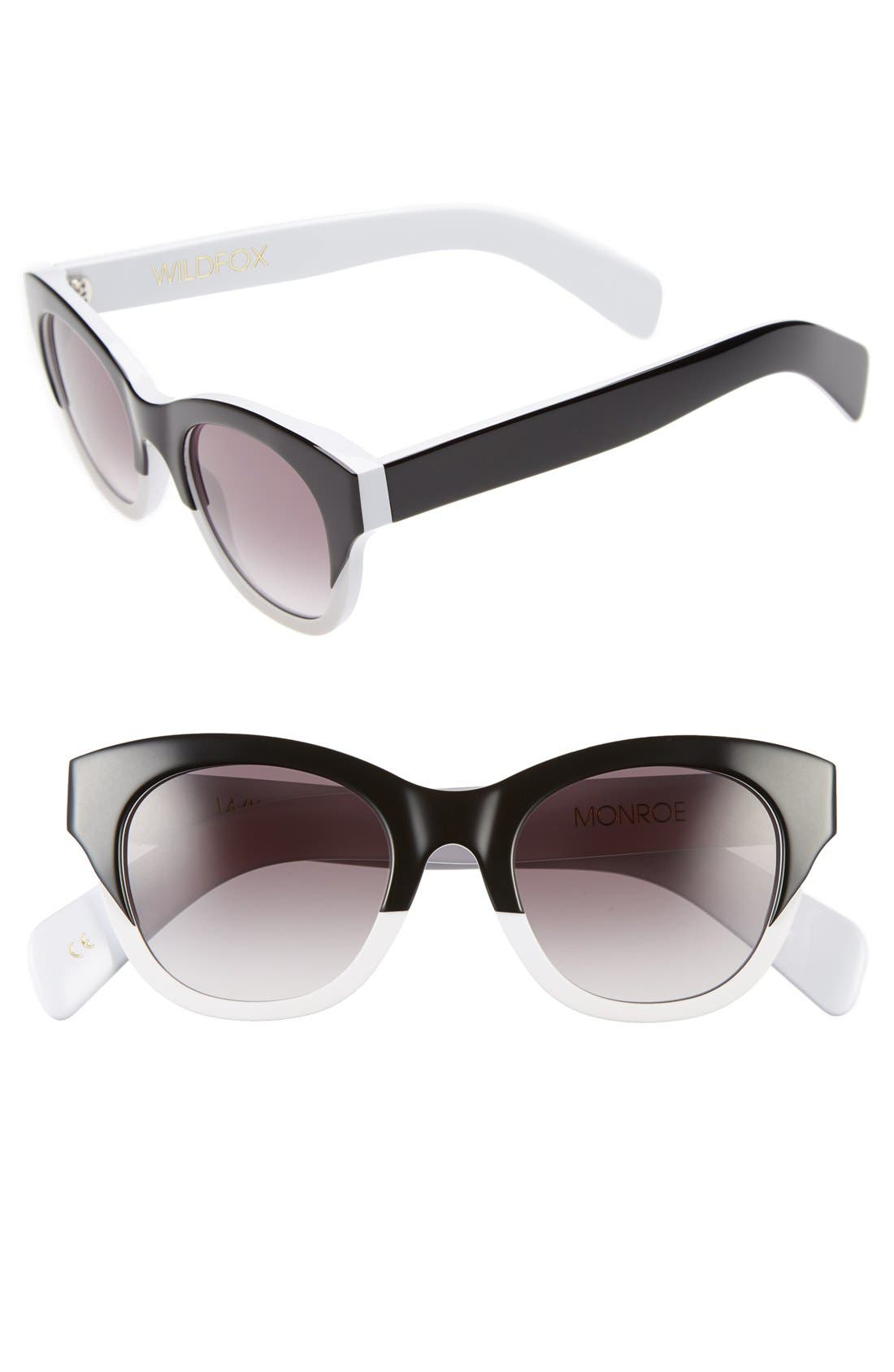 Main Image - Wildfox 'Monroe' 49mm Sunglasses