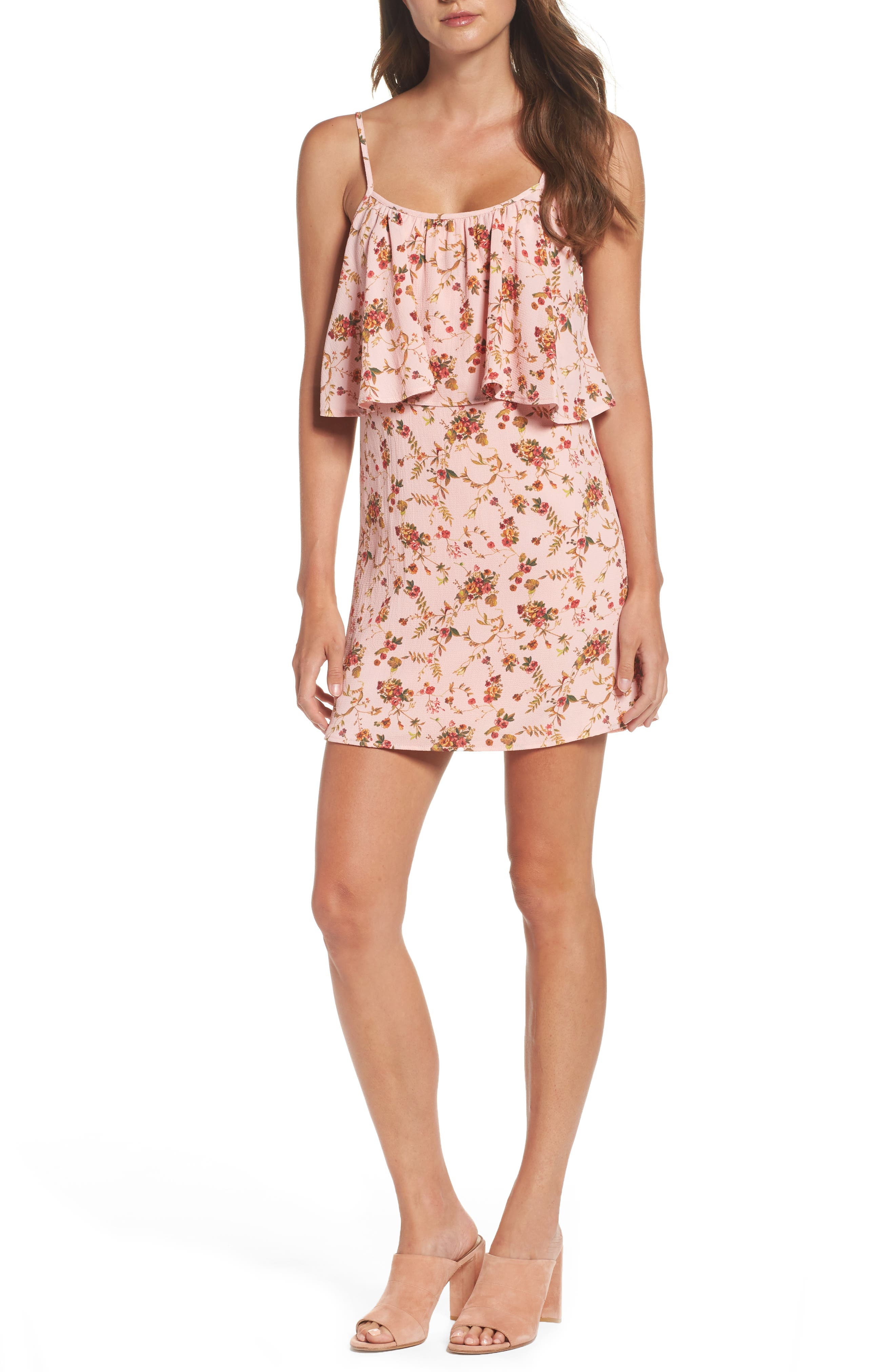 MARY & MABEL Popover Dress