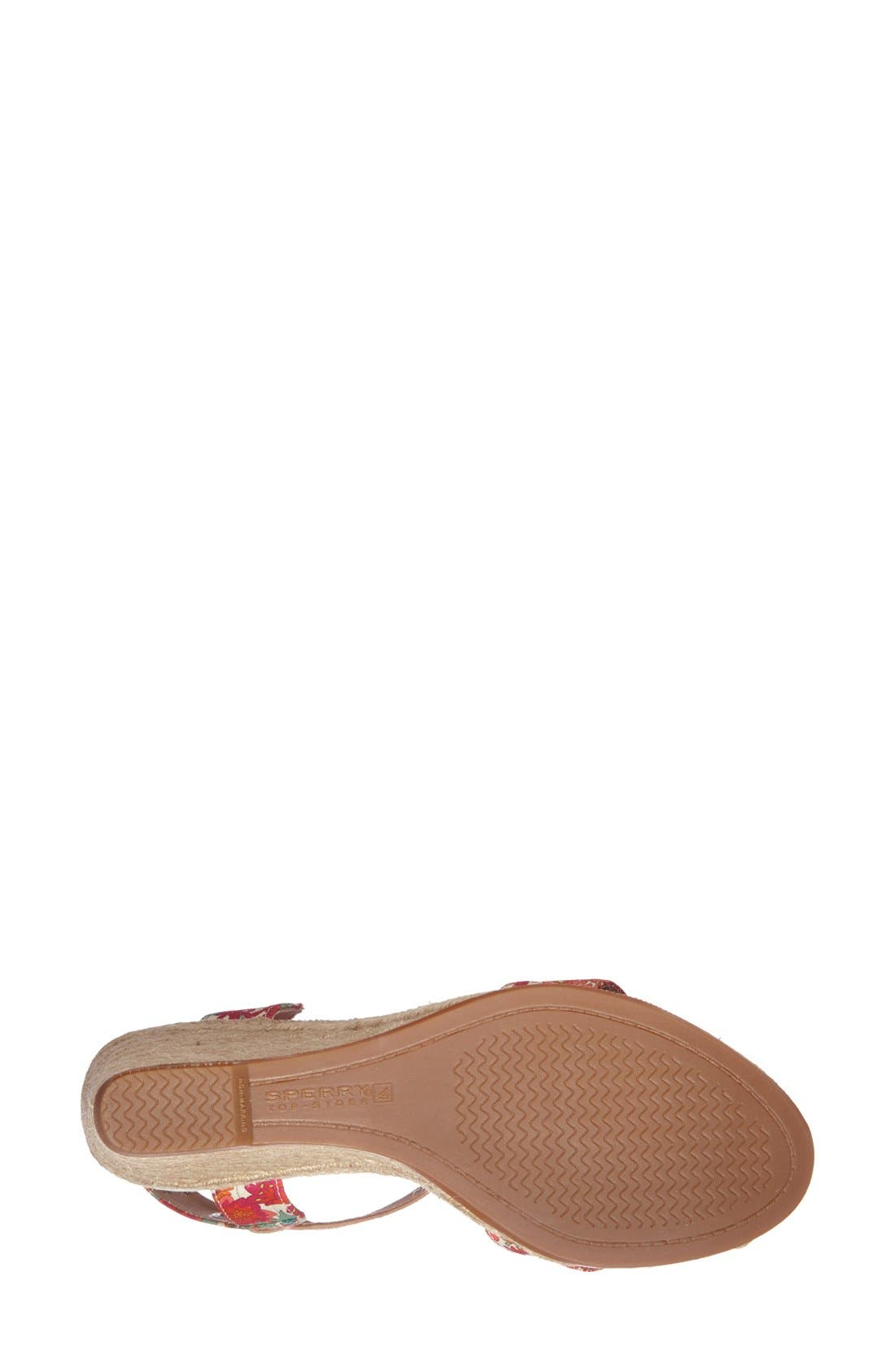 Alternate Image 4  - Sperry 'Saylor' Espadrille Wedge Sandal (Women)