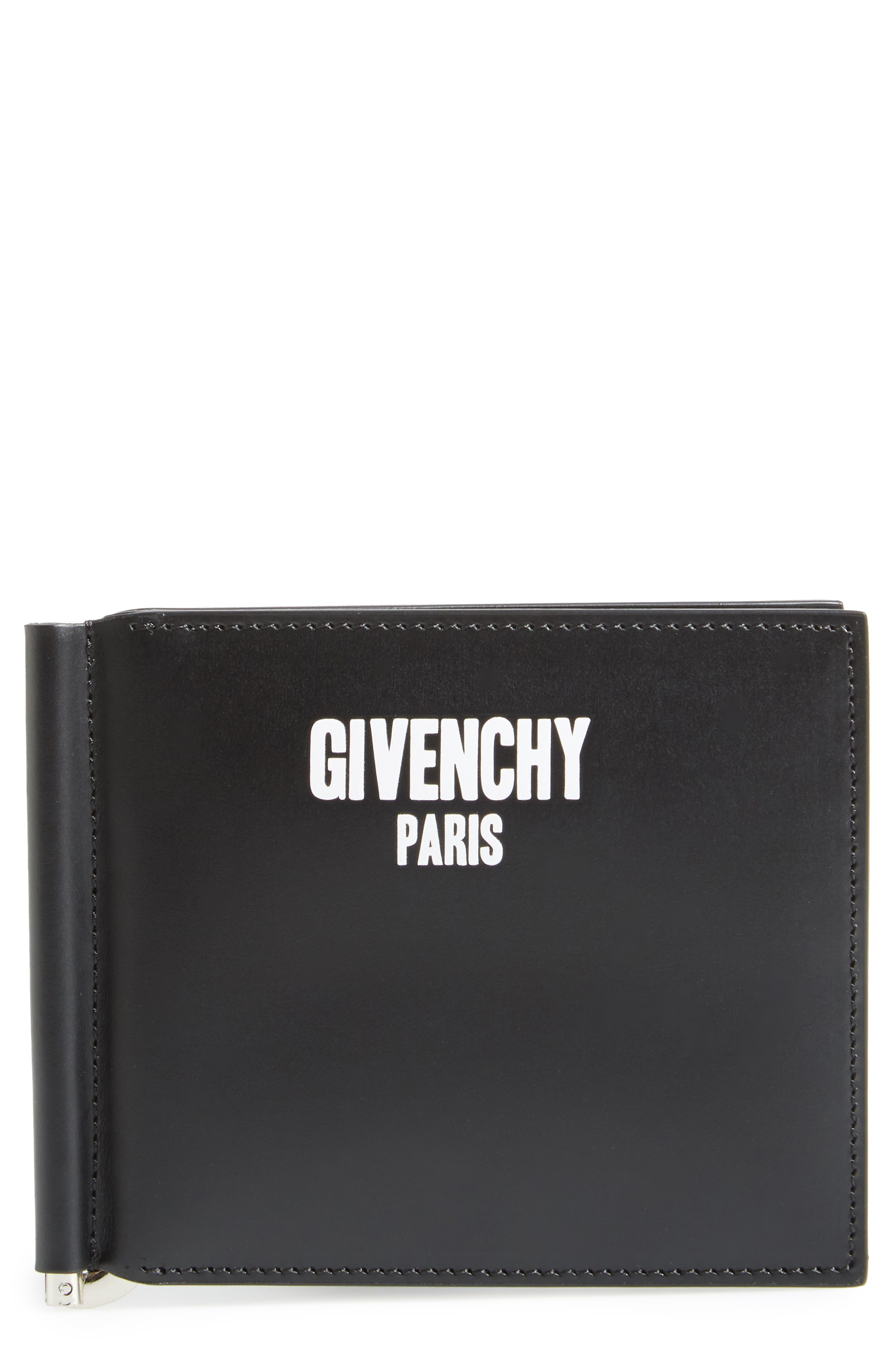 Alternate Image 1 Selected - Givenchy Big Logo Money Clip Wallet