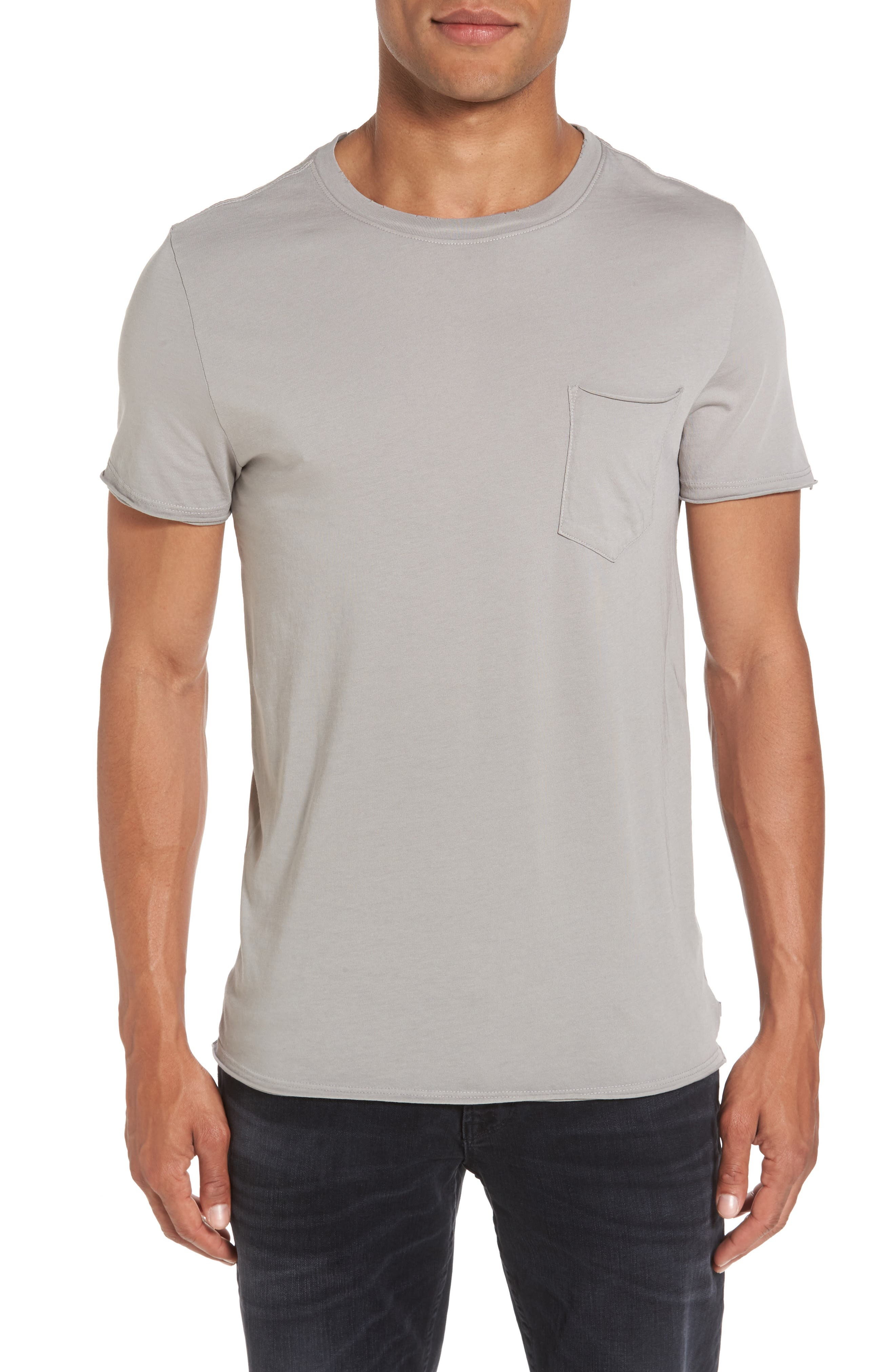 Anders Slim Fit Pocket T-Shirt,                         Main,                         color, Sun Faded Grey Haze