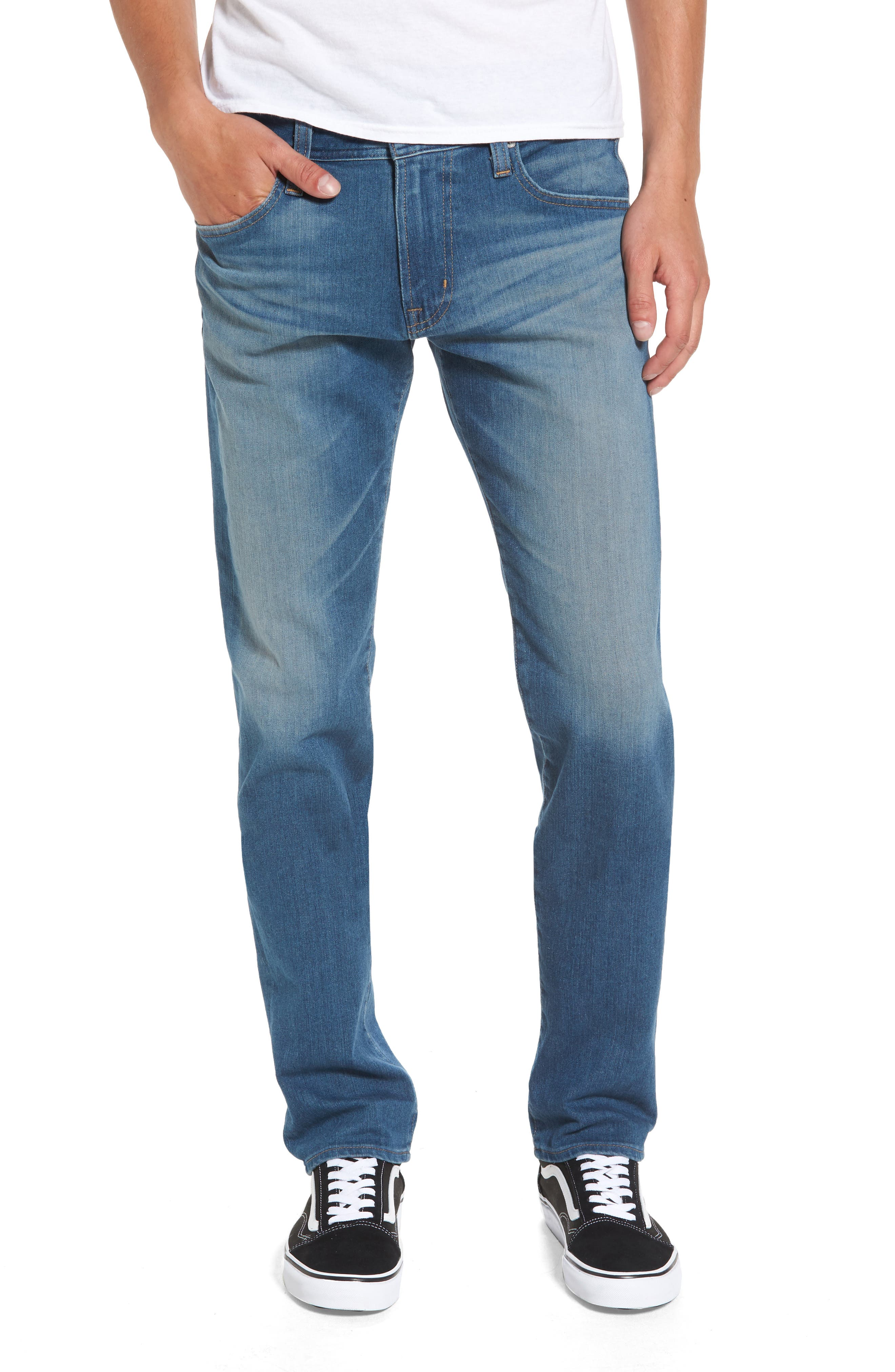 AG Tellis Slim Fit Jeans (Typewriter)