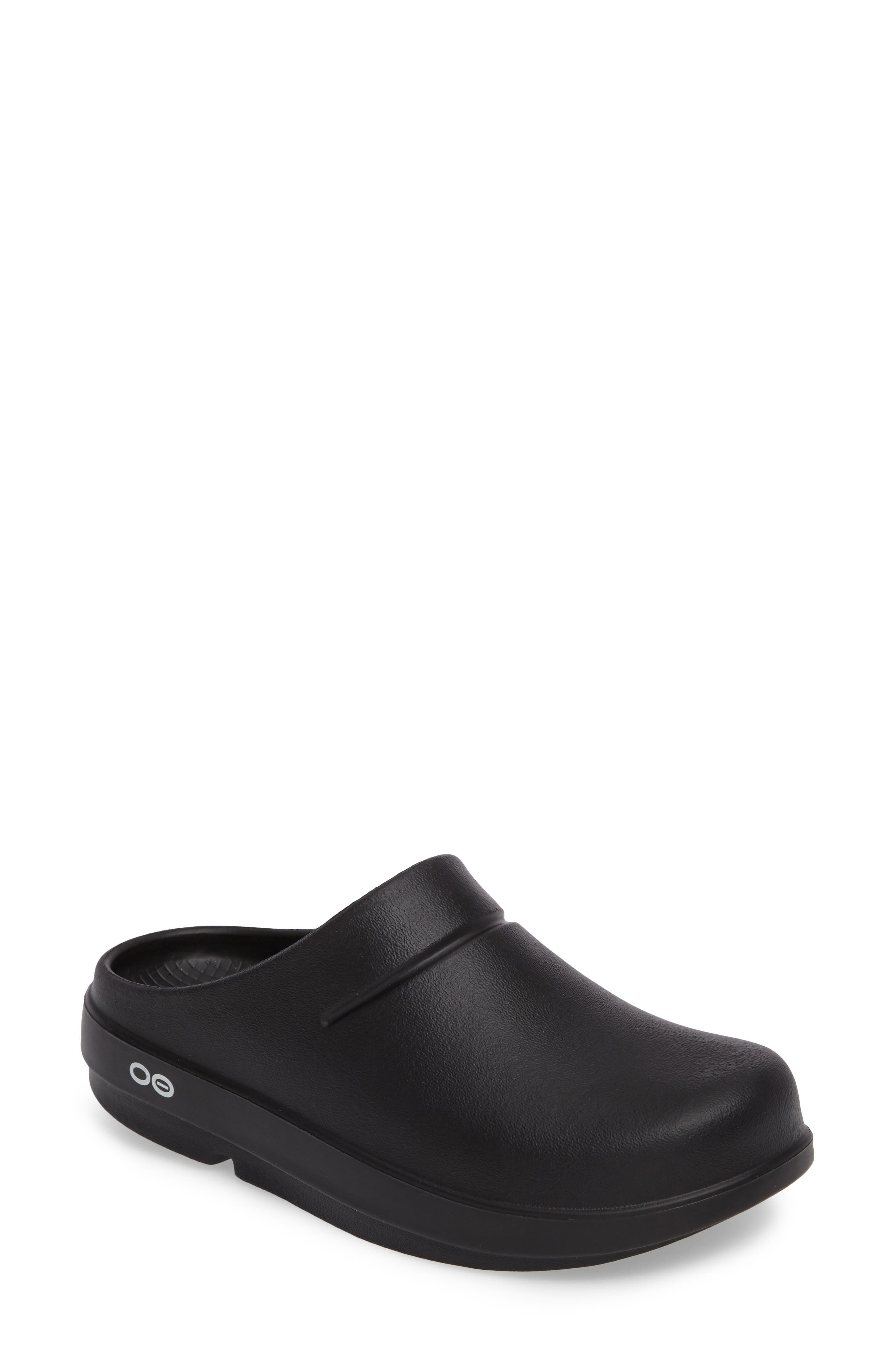 OOcloog Clog,                         Main,                         color, Black Matte