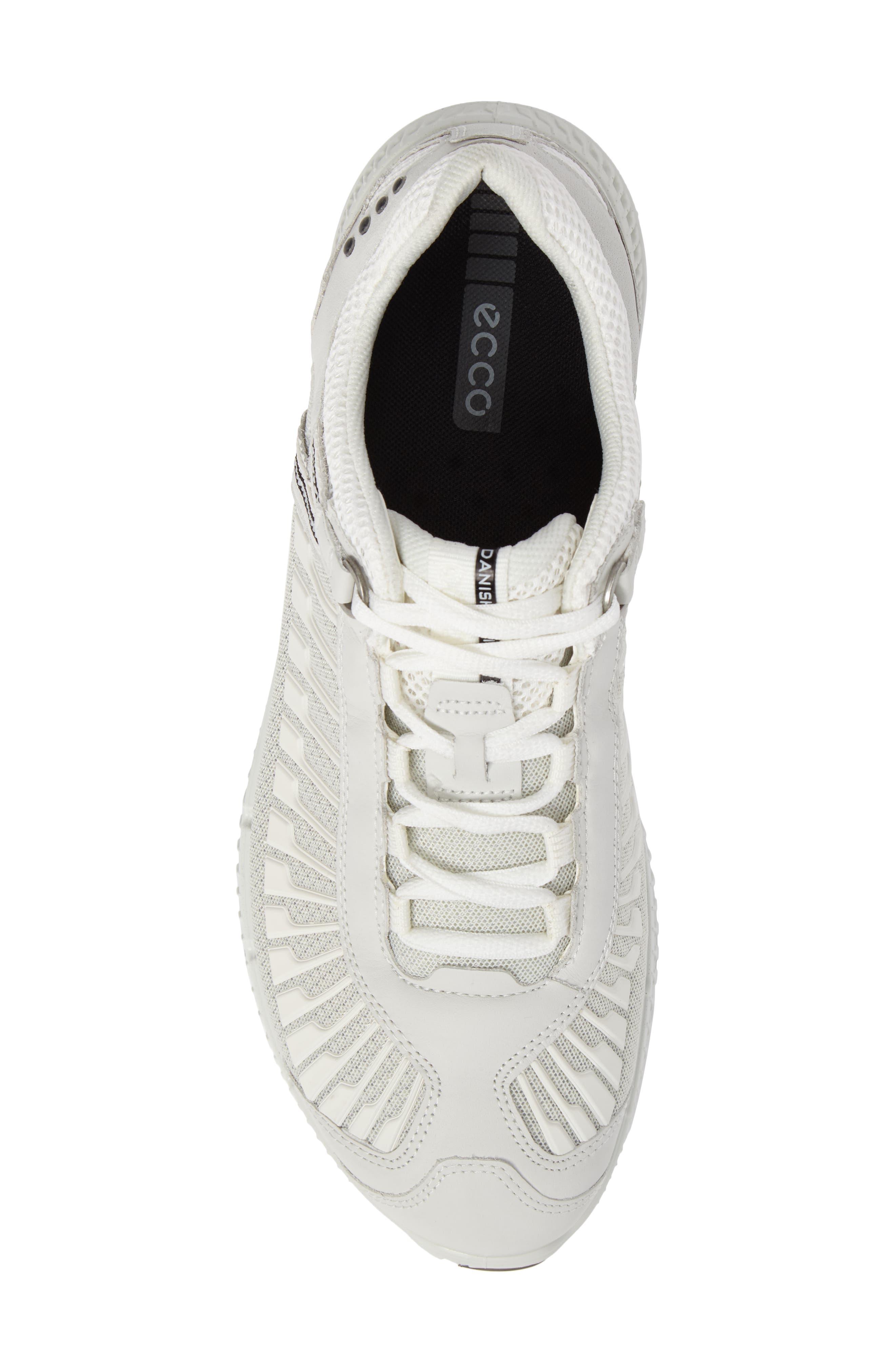 Intrinsic TR Run Sneaker,                             Alternate thumbnail 5, color,                             White Leather