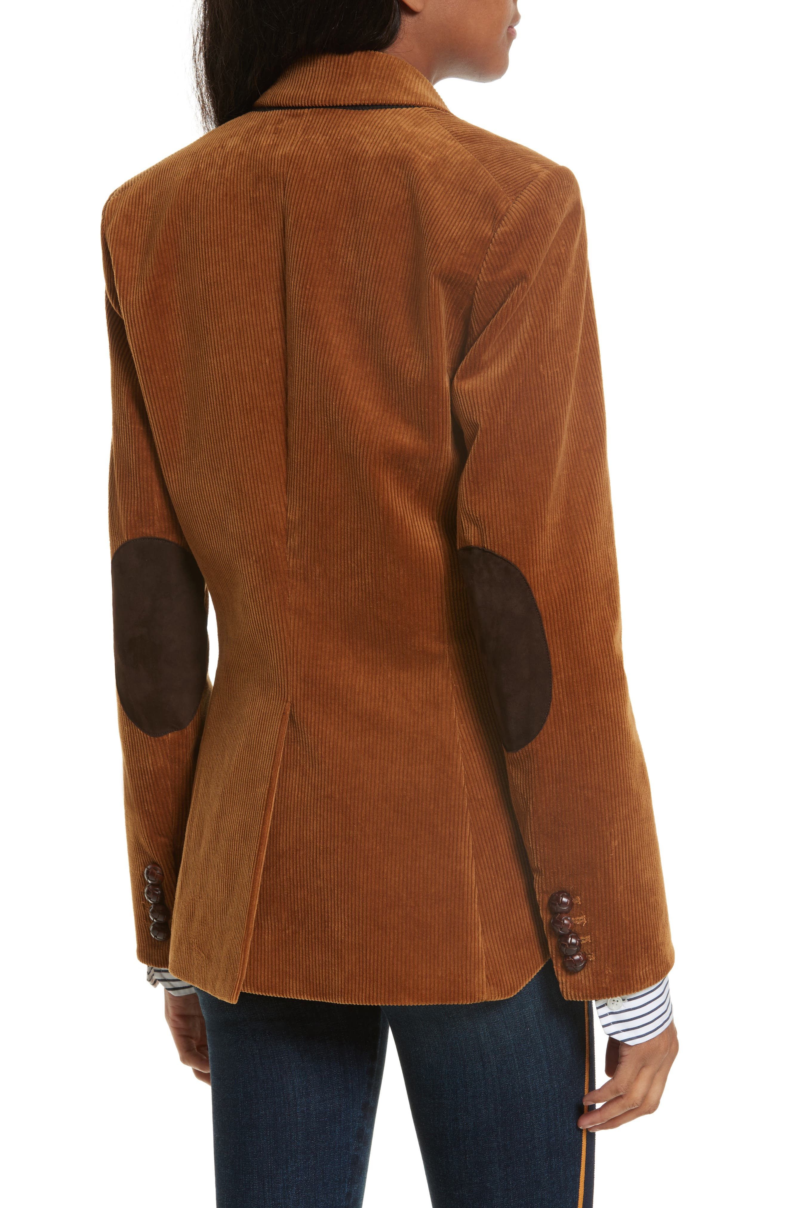 Alternate Image 3  - Veronica Beard Cliff Corduroy Cutaway Jacket