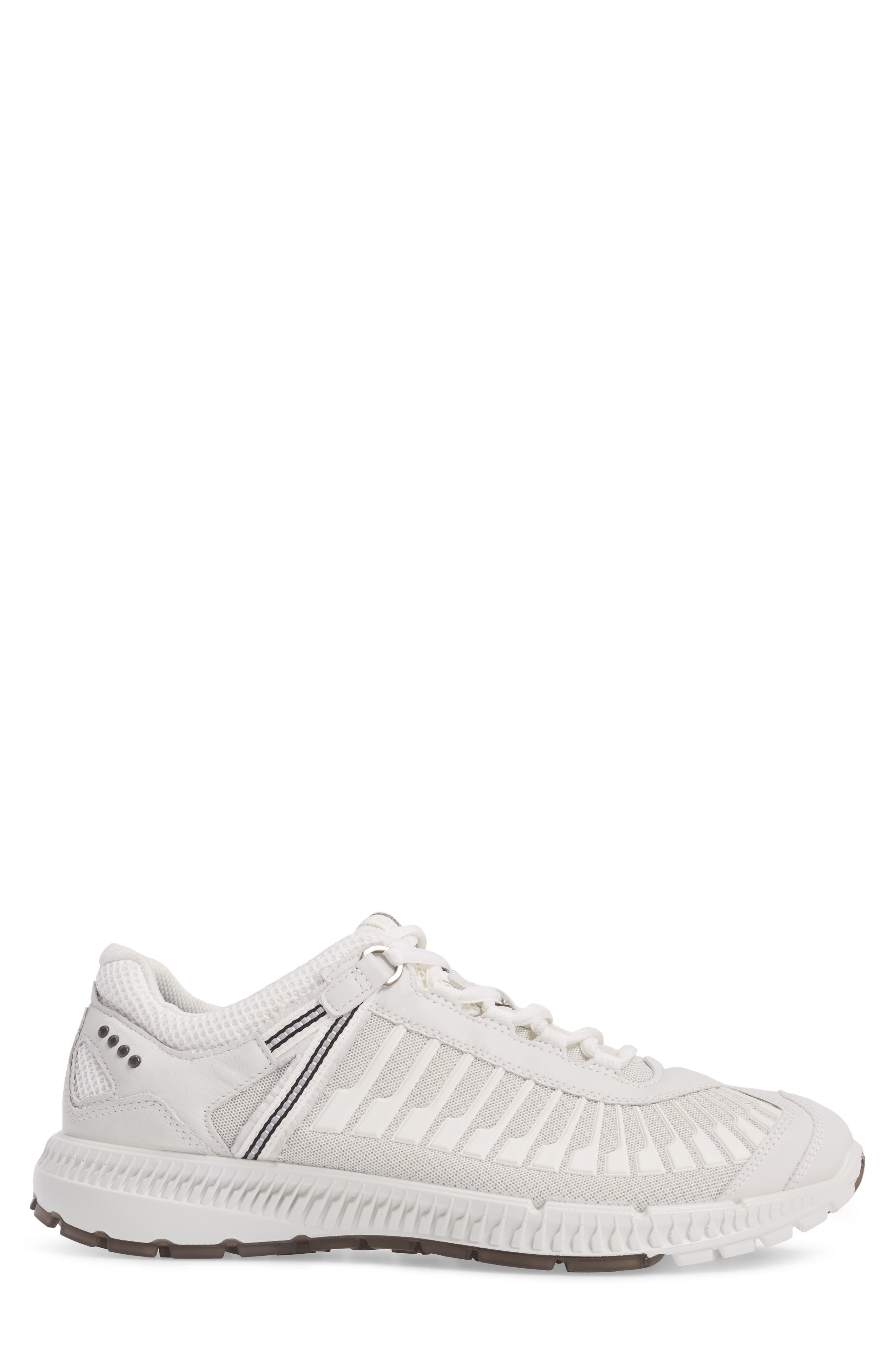Intrinsic TR Run Sneaker,                             Alternate thumbnail 3, color,                             White Leather