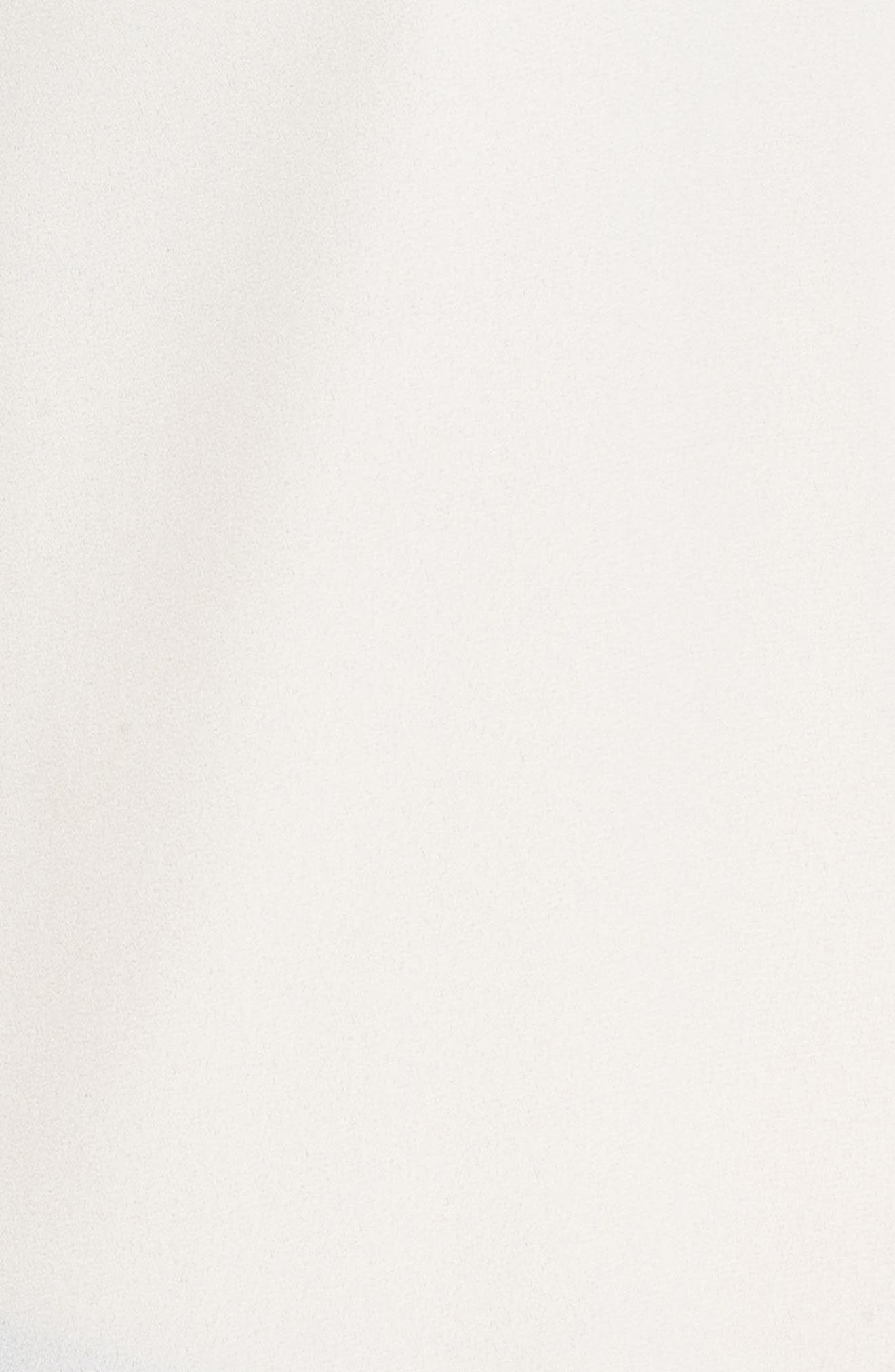 Stripe Track Top,                             Alternate thumbnail 5, color,                             White Snow Combo