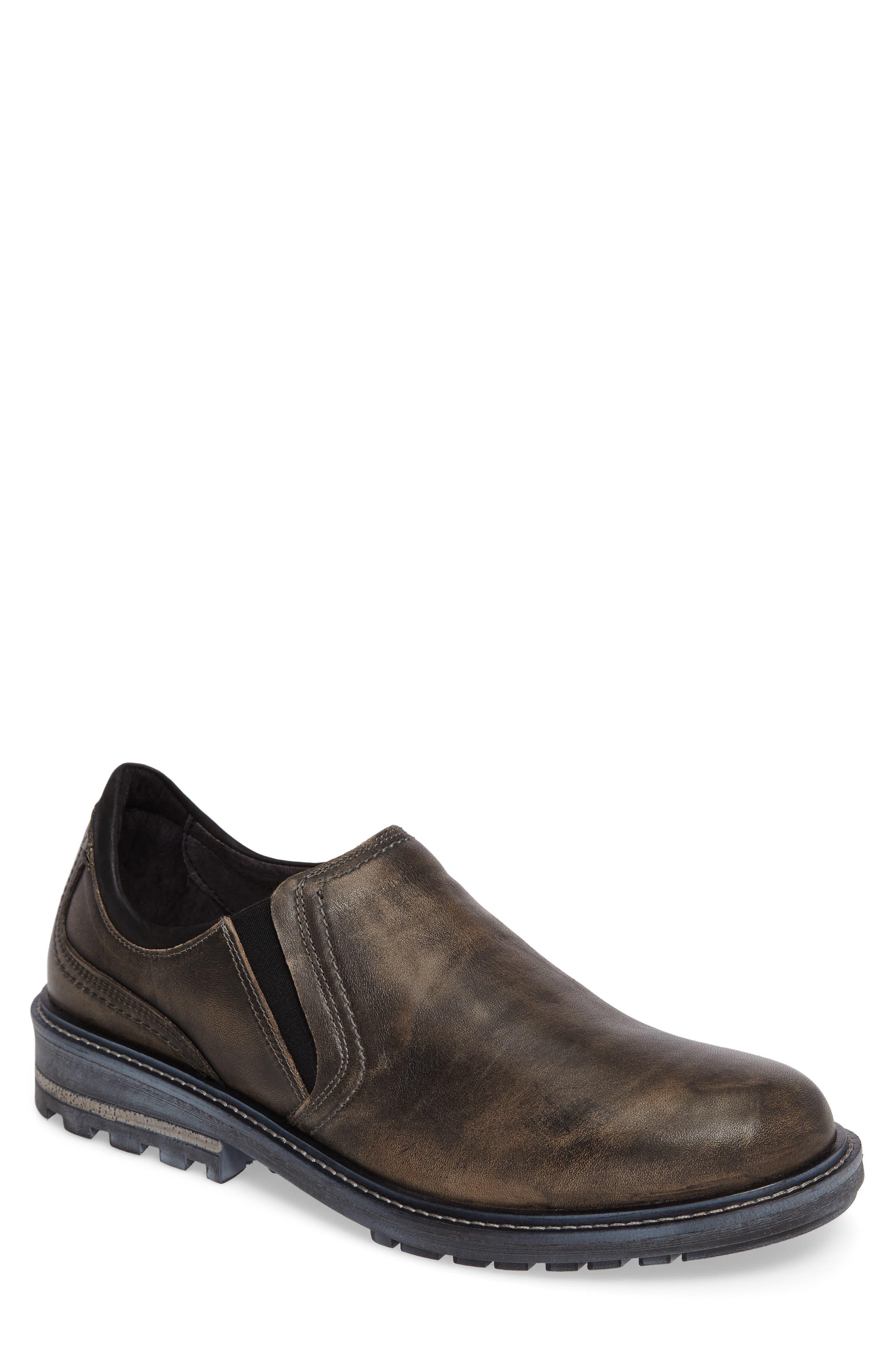 Manyara Slip-On Loafer,                             Main thumbnail 1, color,                             Vintage Grey Leather