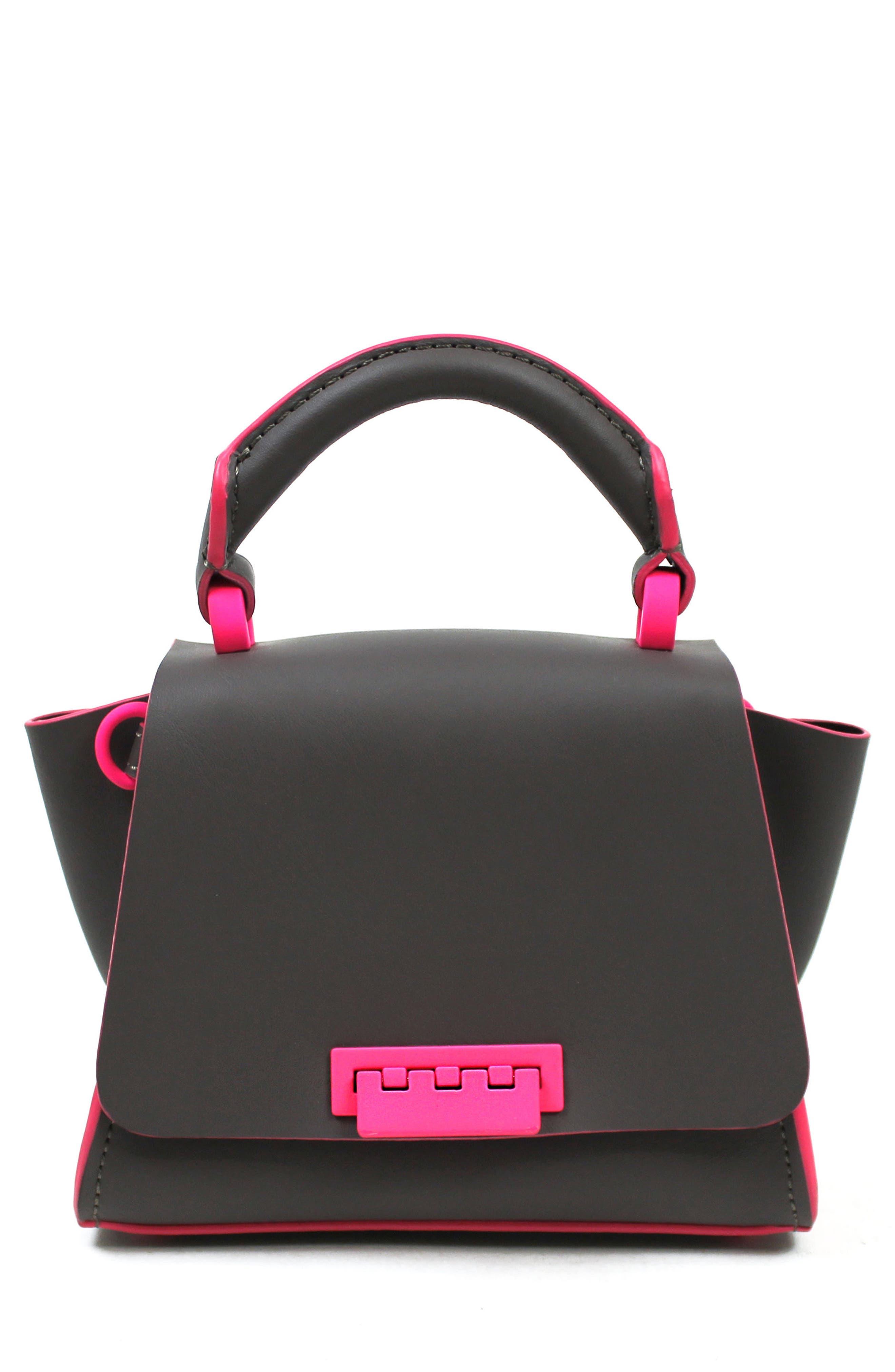 ZAC Zac Posen Eartha Iconic Leather Soft Handle Mini Bag