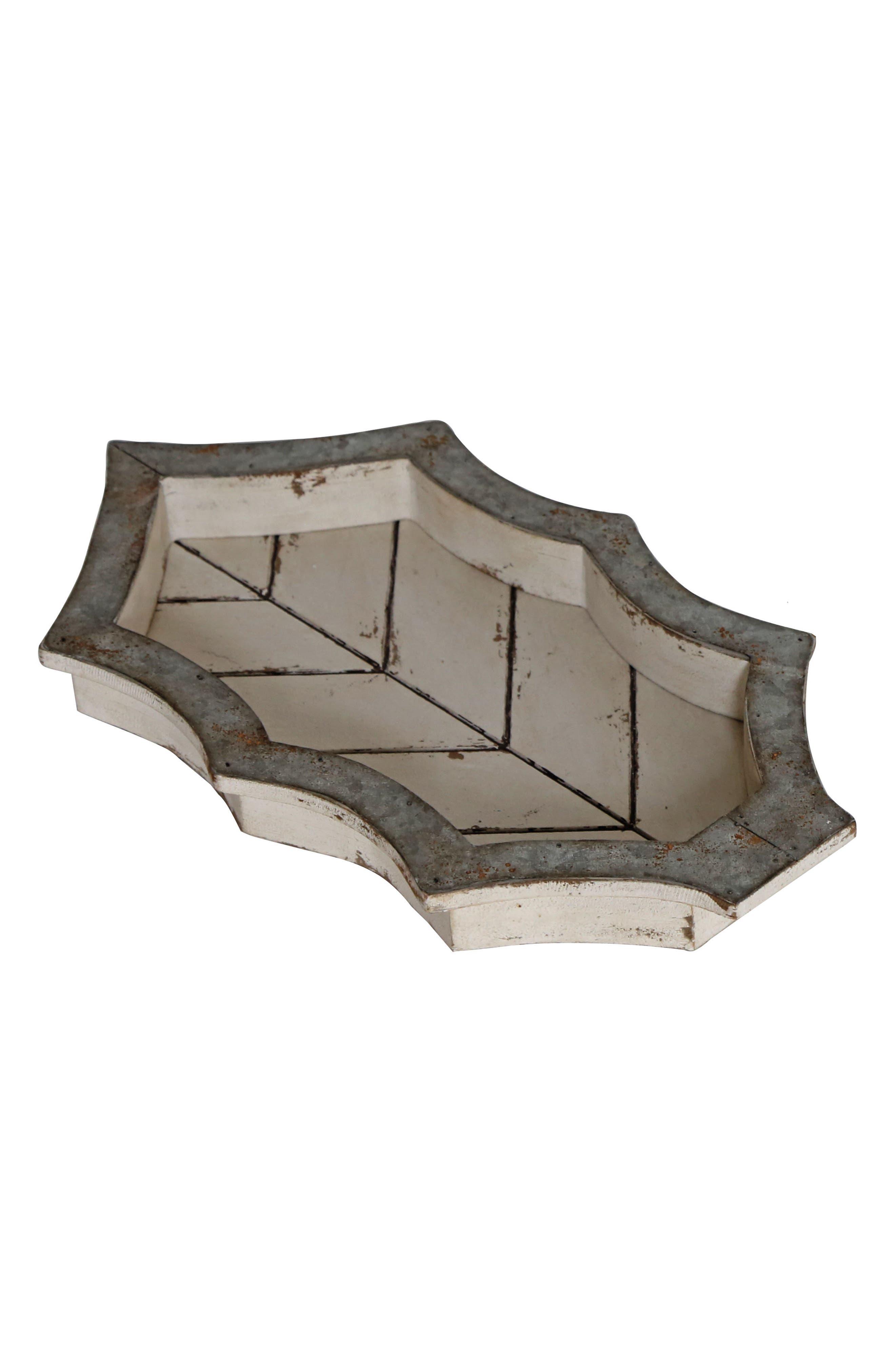 Foreside Wood Leaf Tray