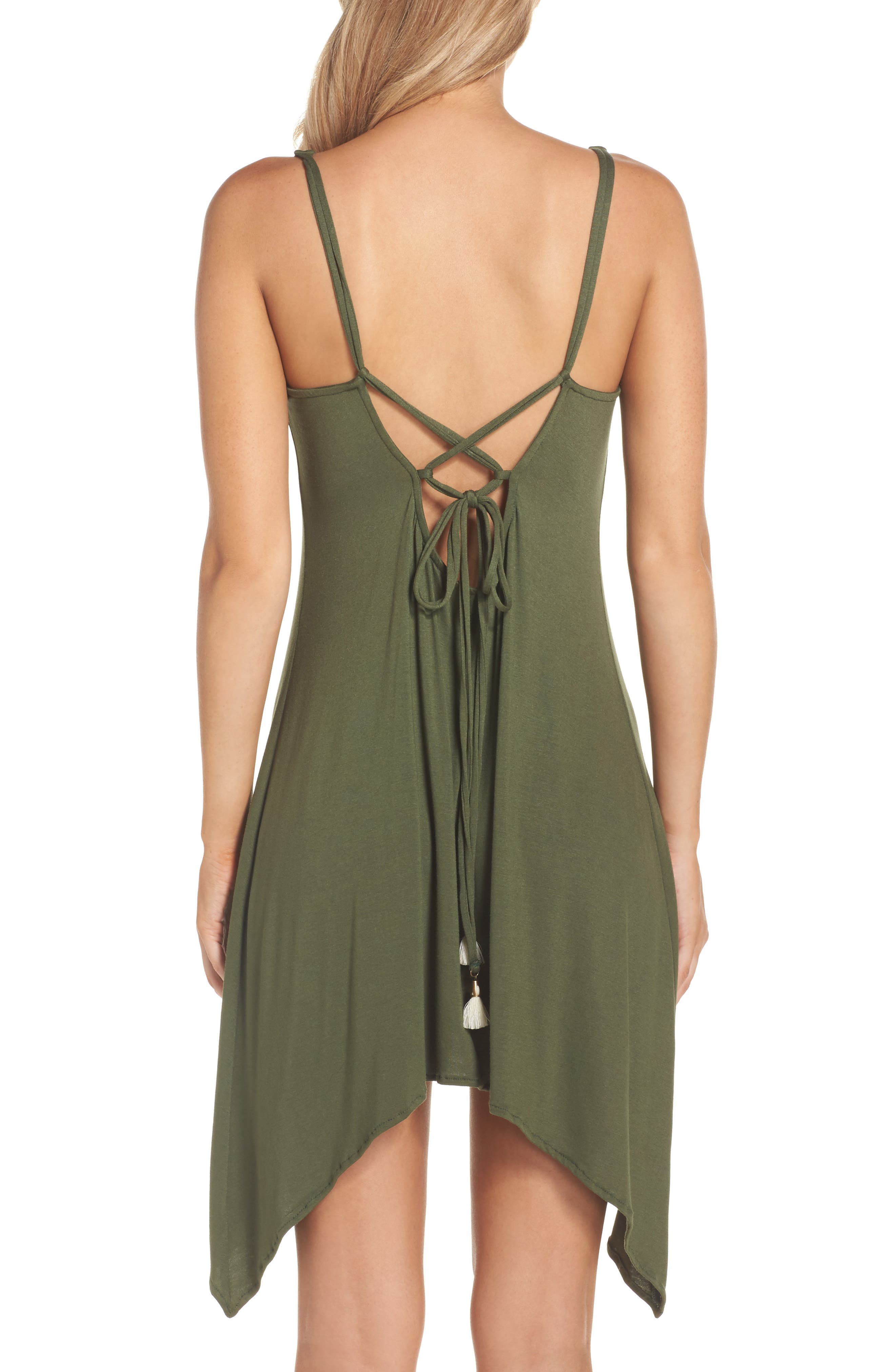 Alternate Image 2  - Lucky Brand Take Cover Cover-Up Dress