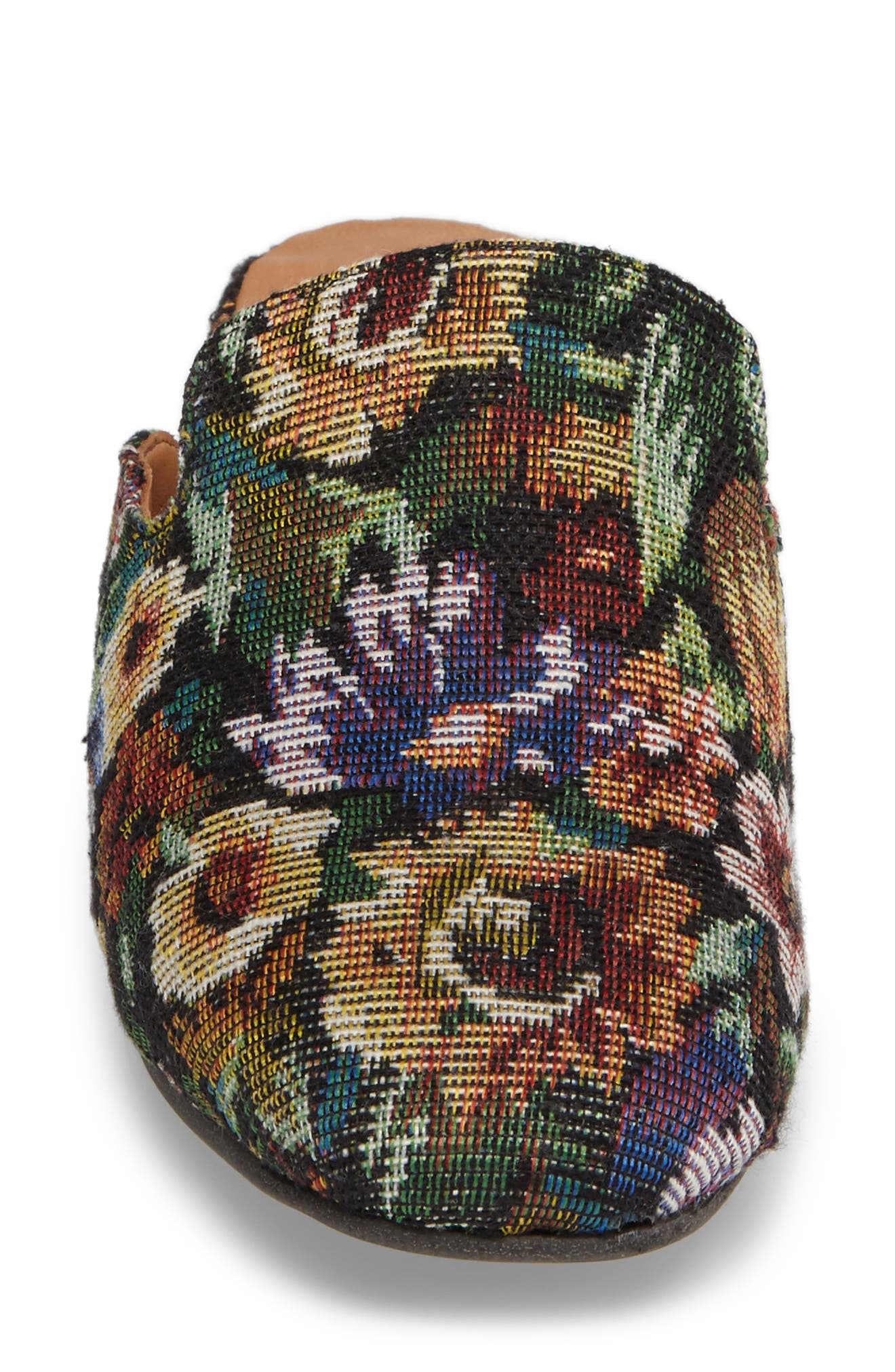 Eida Loafer Mule,                             Alternate thumbnail 4, color,                             Floral Fabric