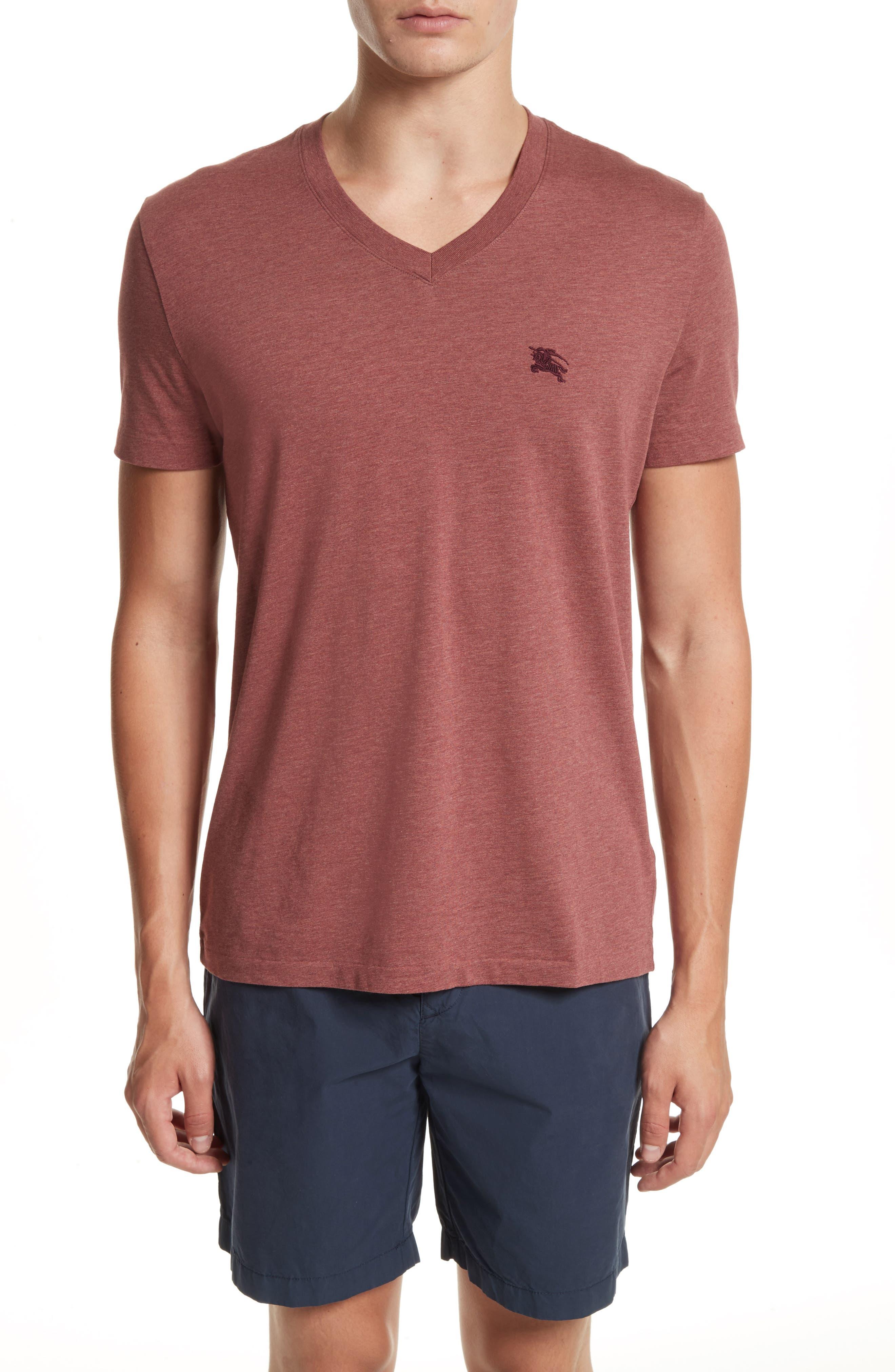 Main Image - Burberry Lindon Cotton T-Shirt