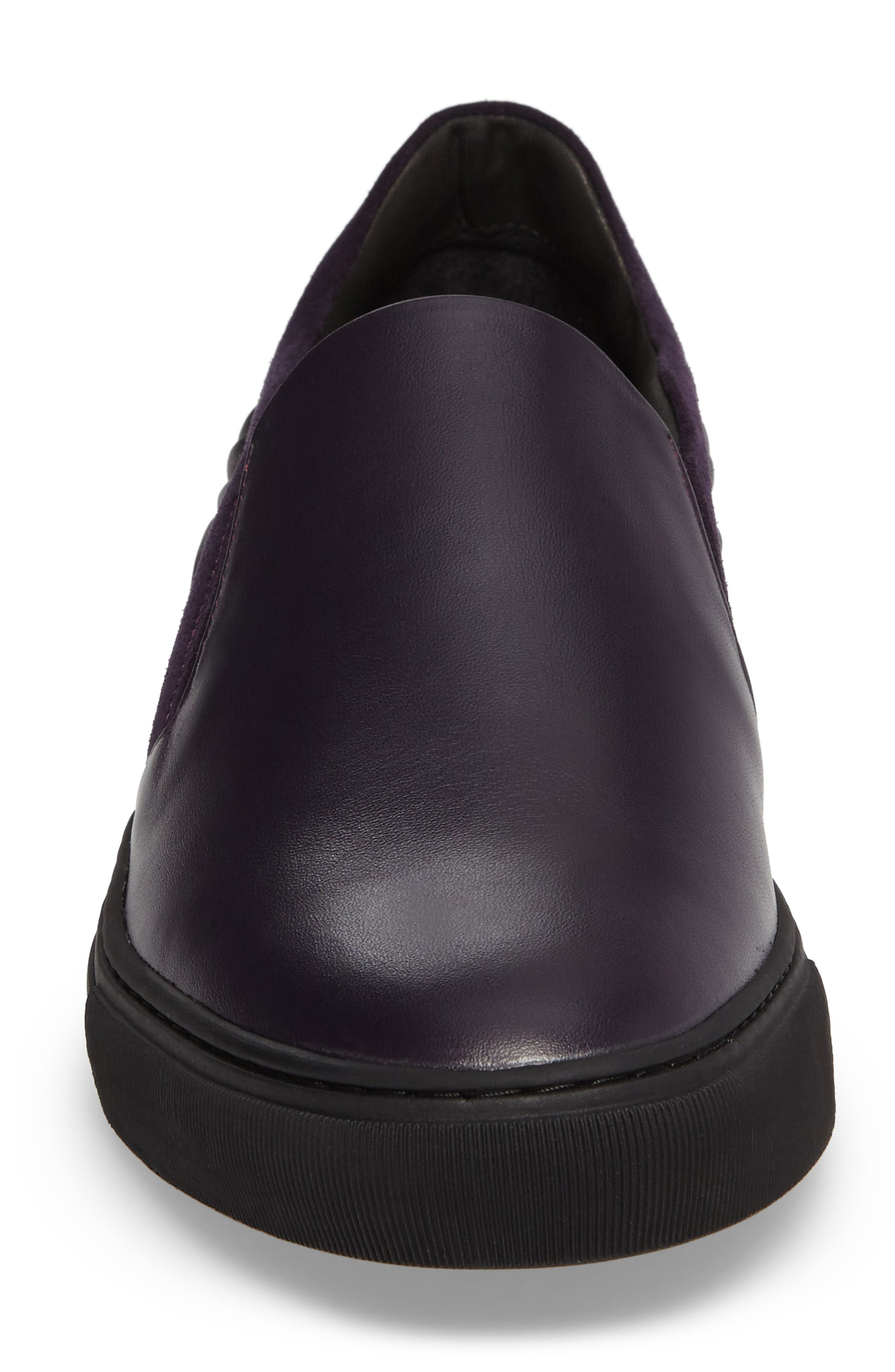 Collection Baroque Slip-On,                             Alternate thumbnail 4, color,                             Must/ Nikel Leather