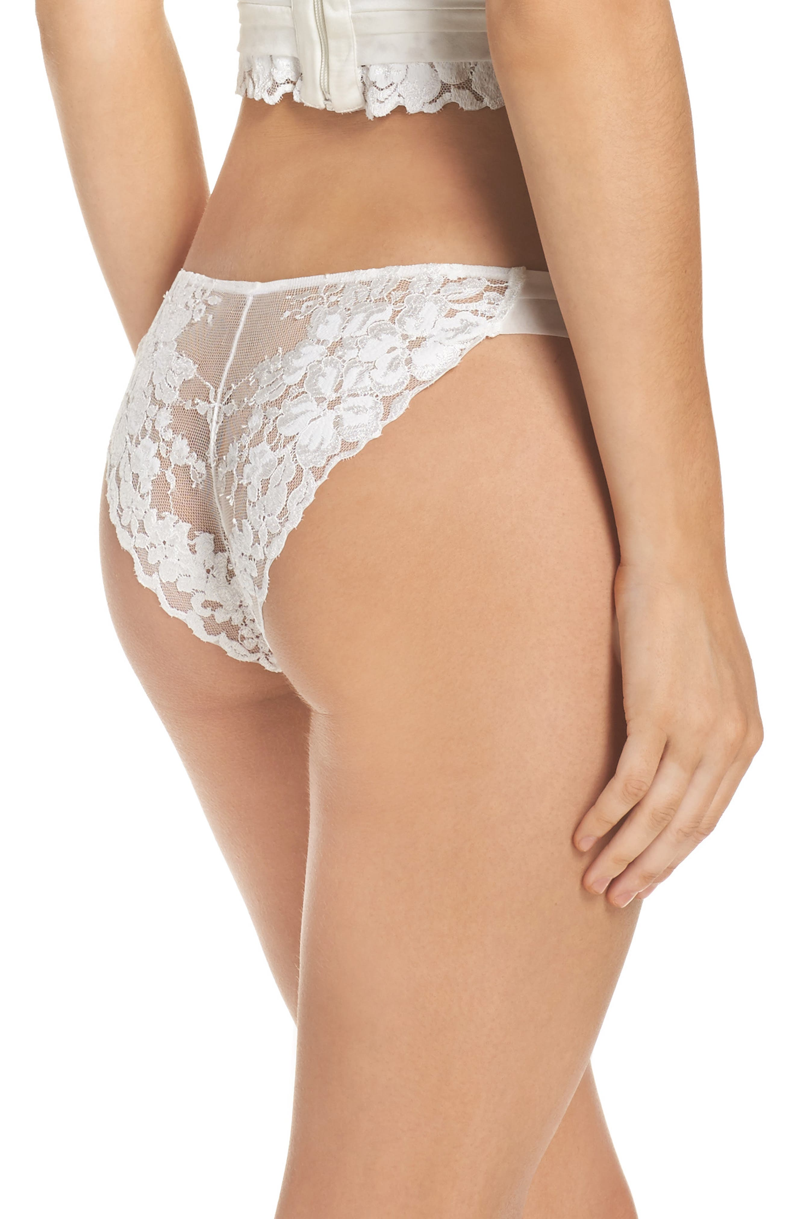 Alternate Image 2  - La Perla Azalea Brazilian Panties