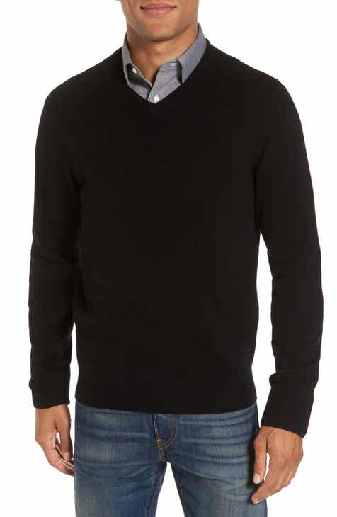 nordstrom mens shop cashmere v neck sweater