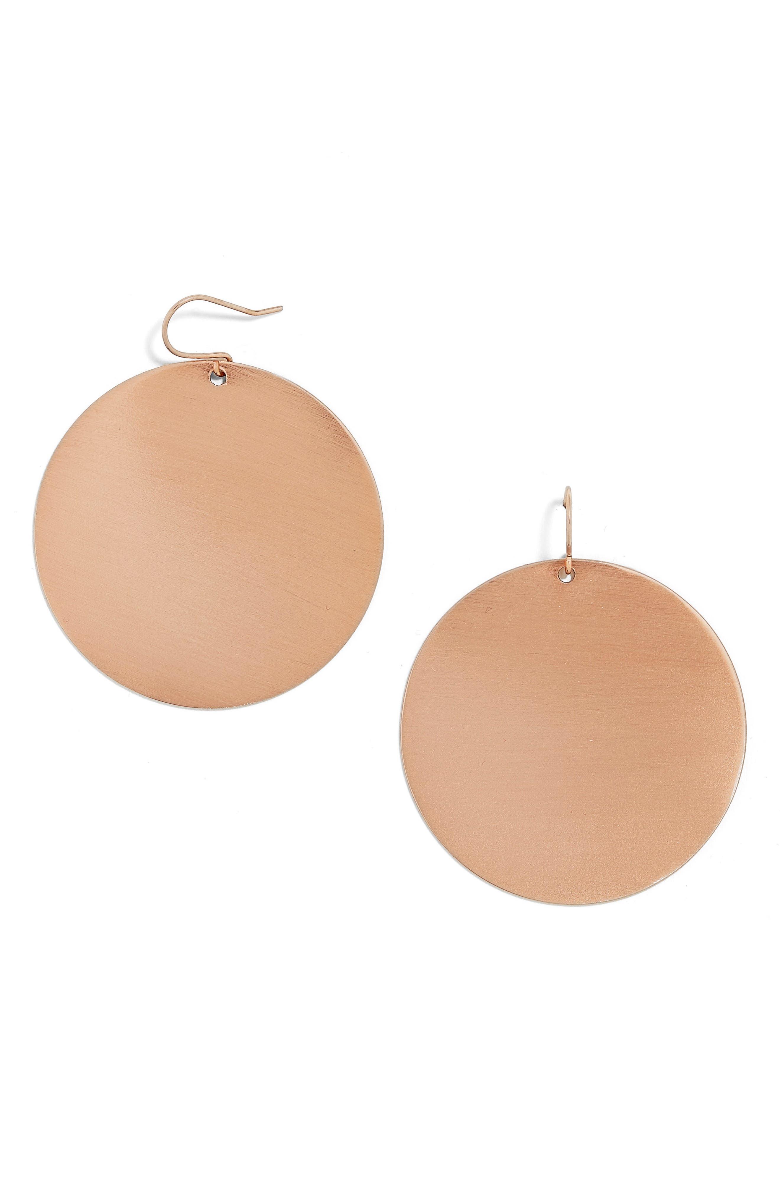 BAUBLEBAR Disc Earrings