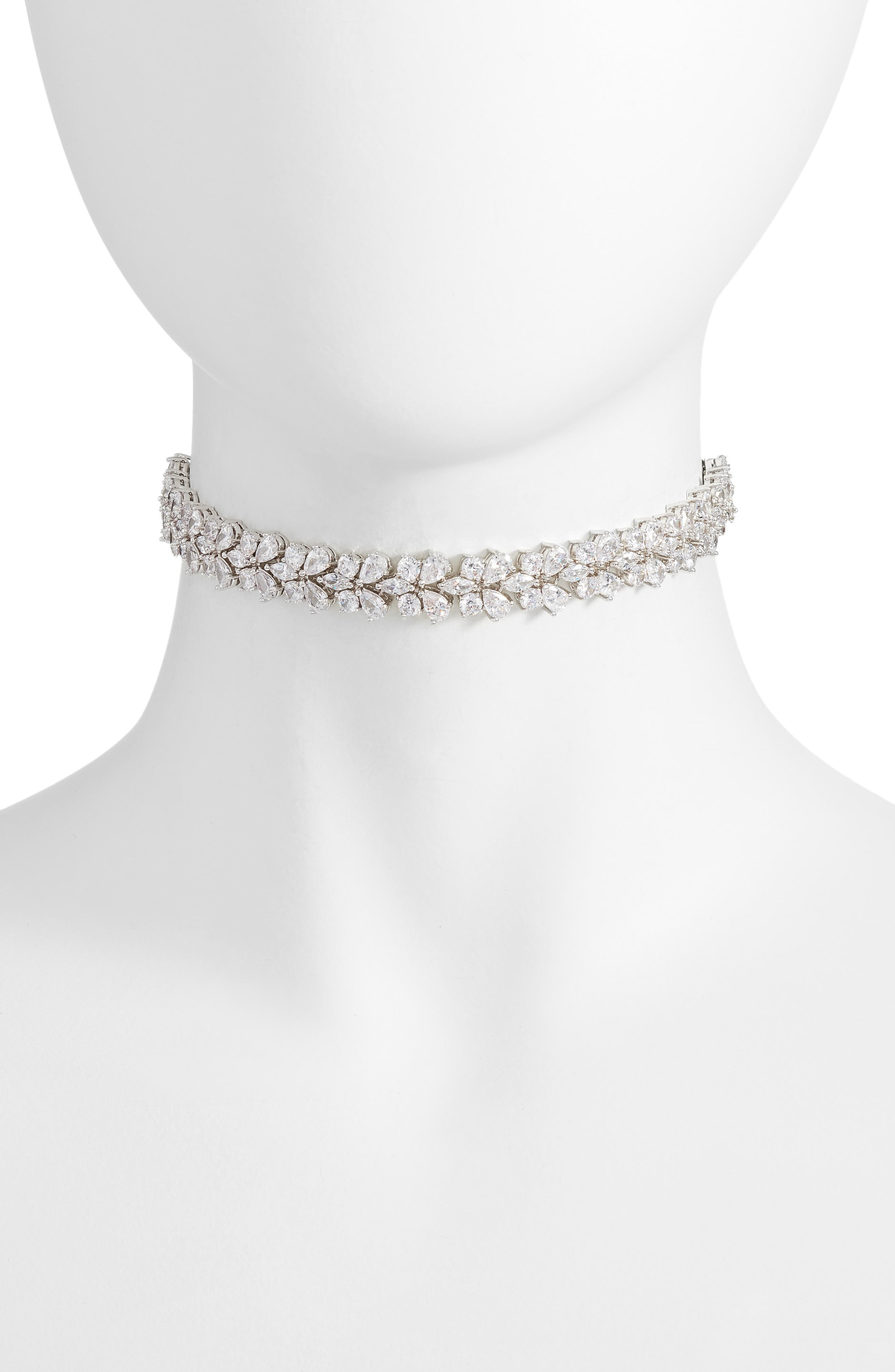 Alternate Image 1 Selected - CZ by Kenneth Jay Lane Choker
