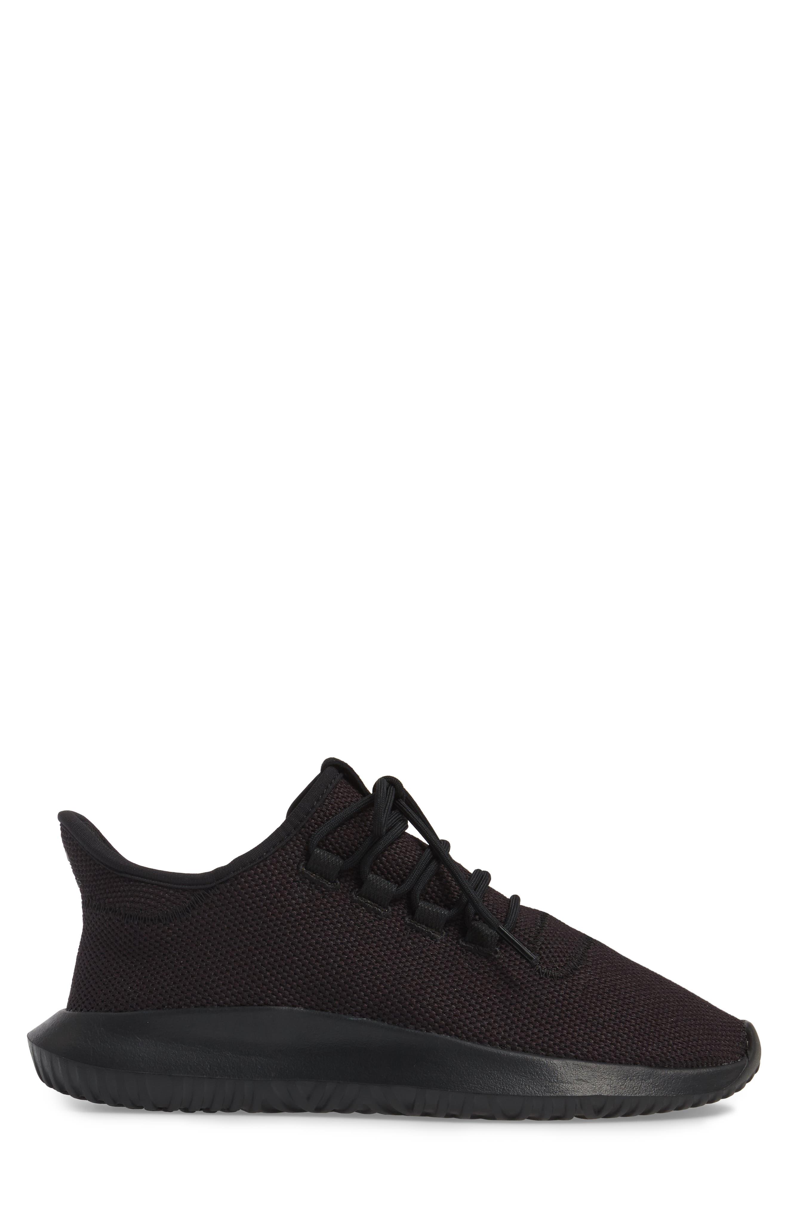 Tubular Shadow Sneaker,                             Alternate thumbnail 3, color,                             Core Black/ White/ Core Black