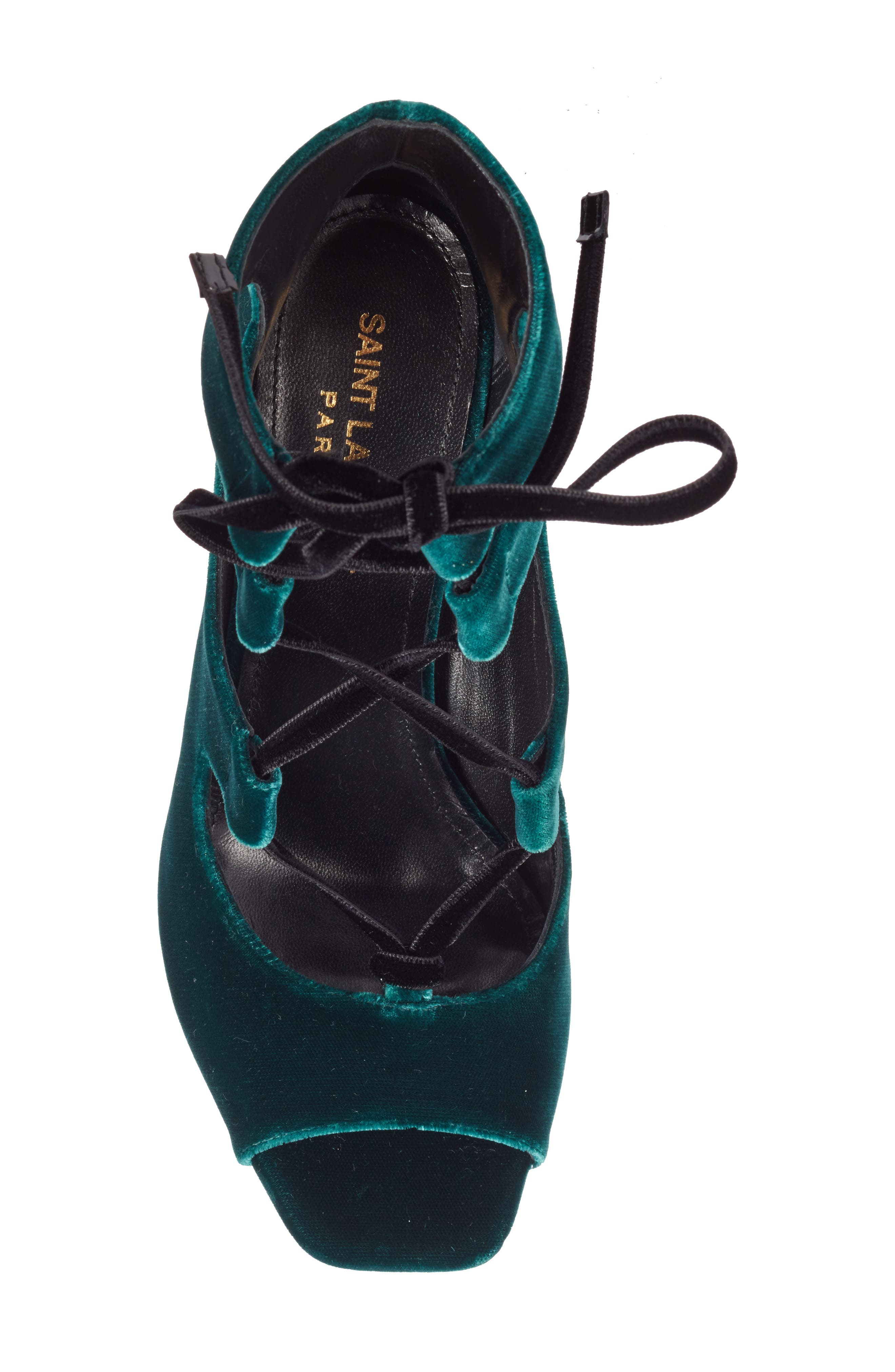 Loulou Ghillie Sandal,                             Alternate thumbnail 5, color,                             Teal