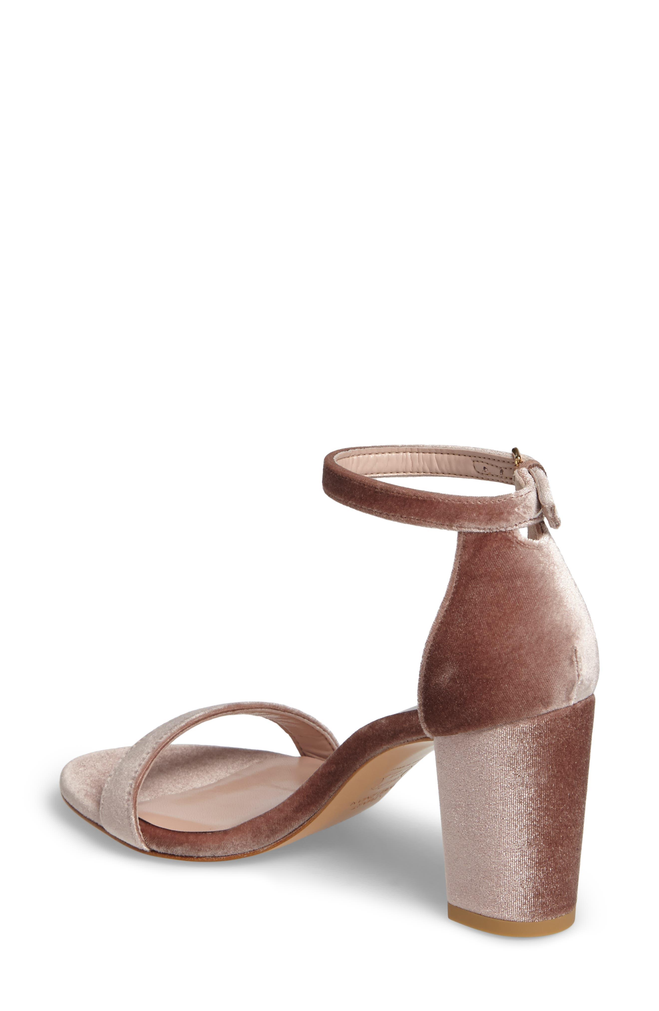 NearlyNude Ankle Strap Sandal,                             Alternate thumbnail 2, color,                             Candy Velvet