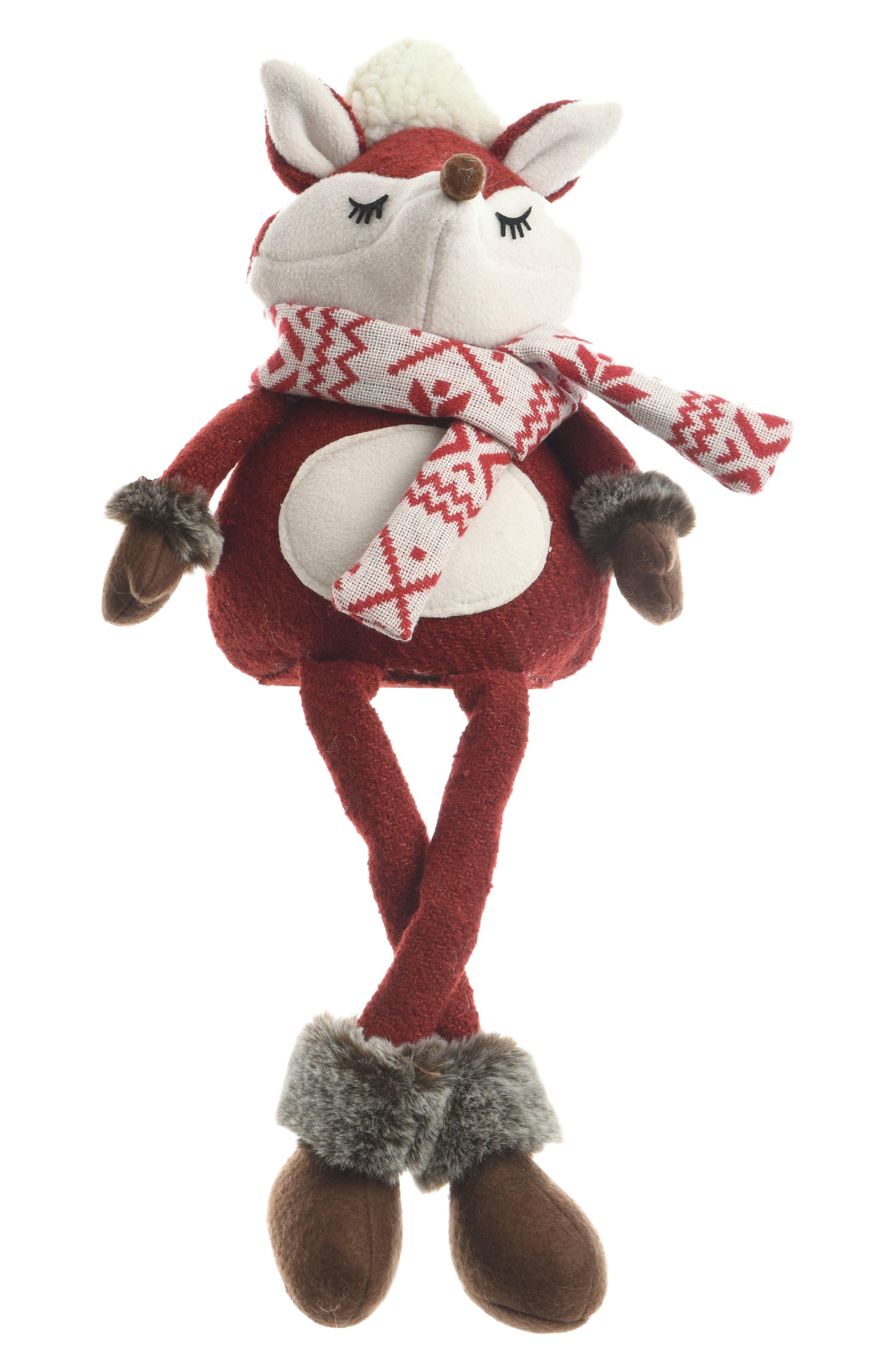 Alternate Image 1 Selected - Decoris Sitting Fox Figurine
