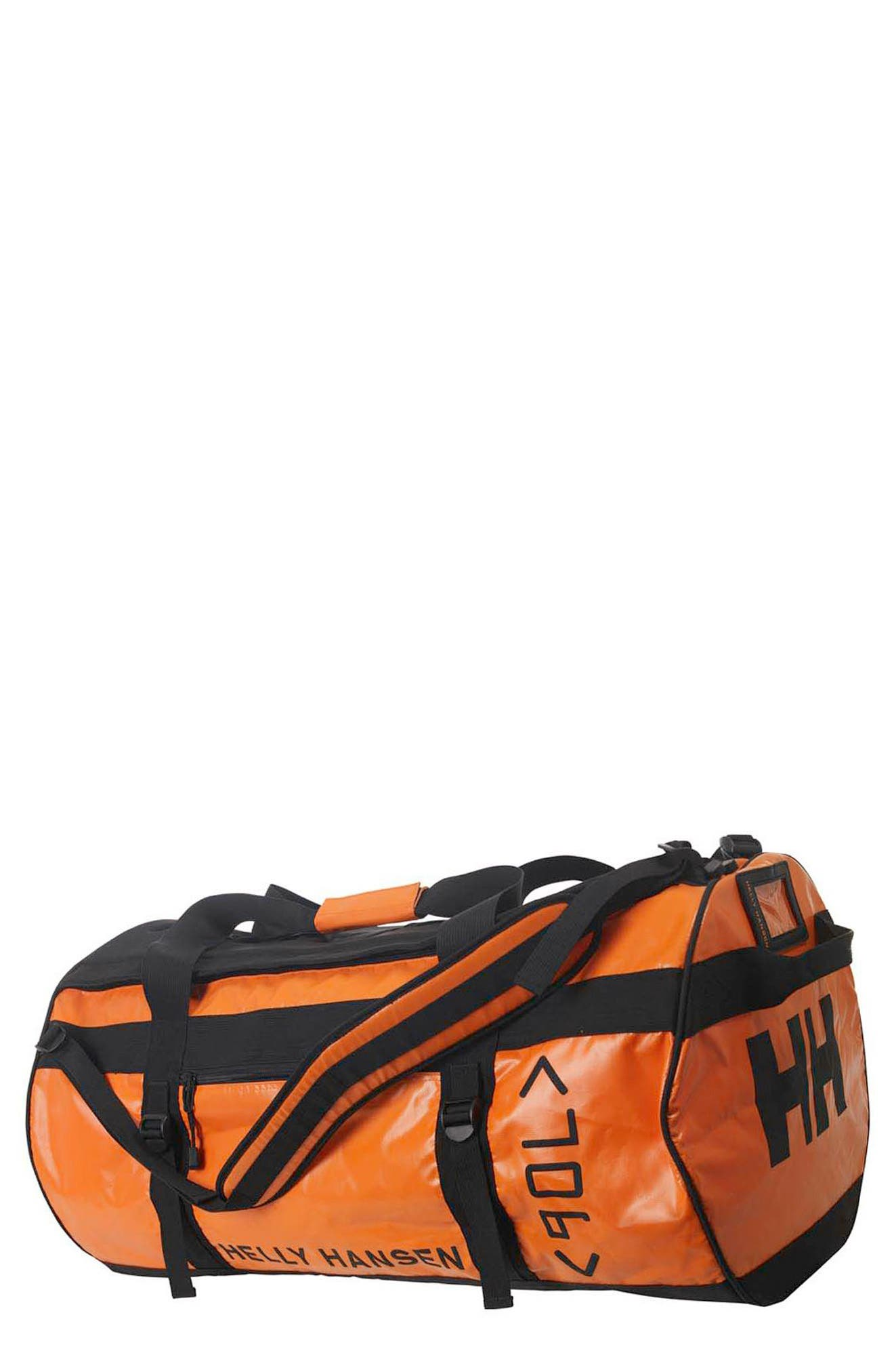 Classic 90-Liter Duffel Bag,                         Main,                         color, Spray Orange