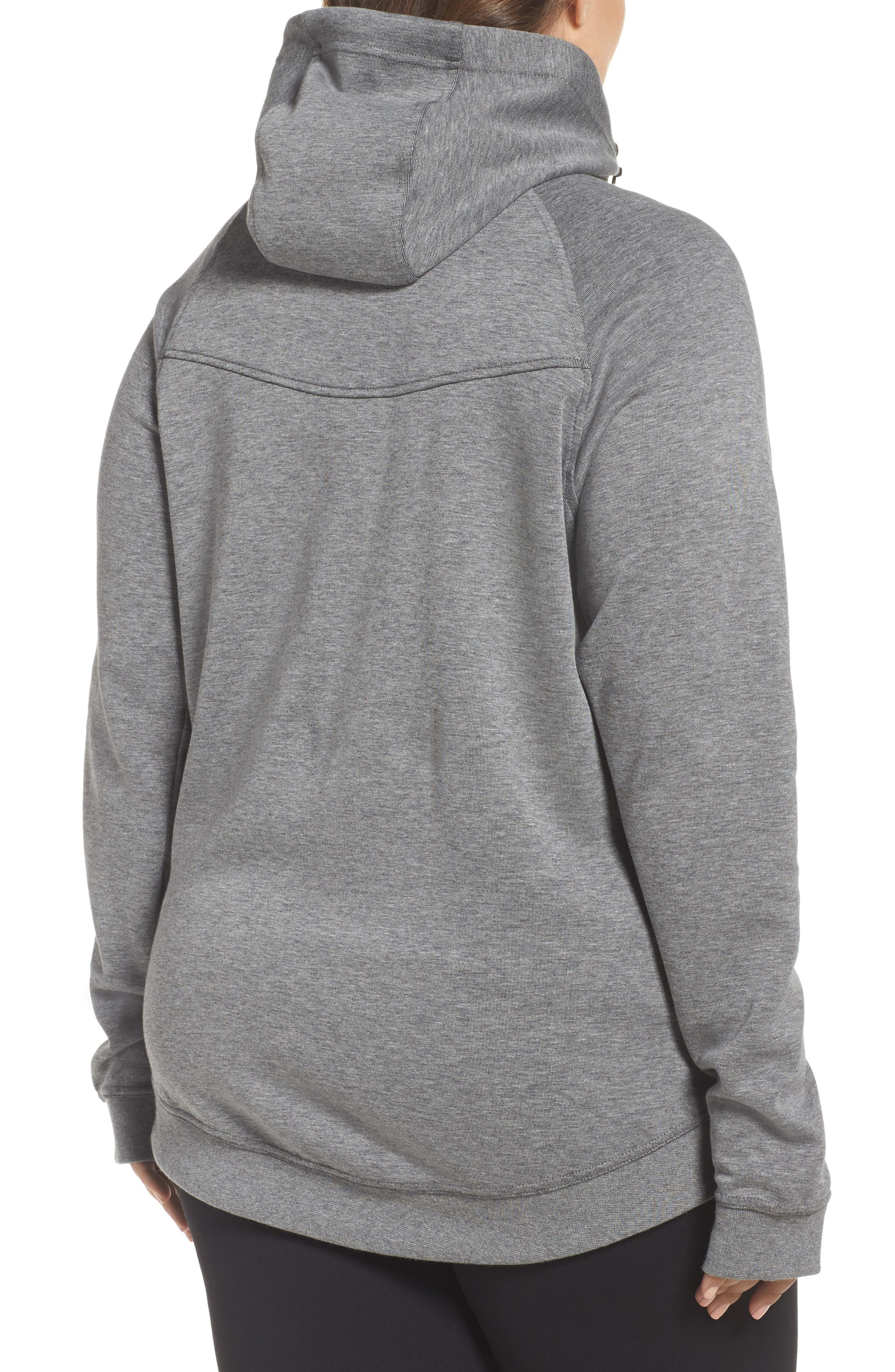 Alternate Image 2  - Nike Tech Fleece Hoodie (Plus Size)