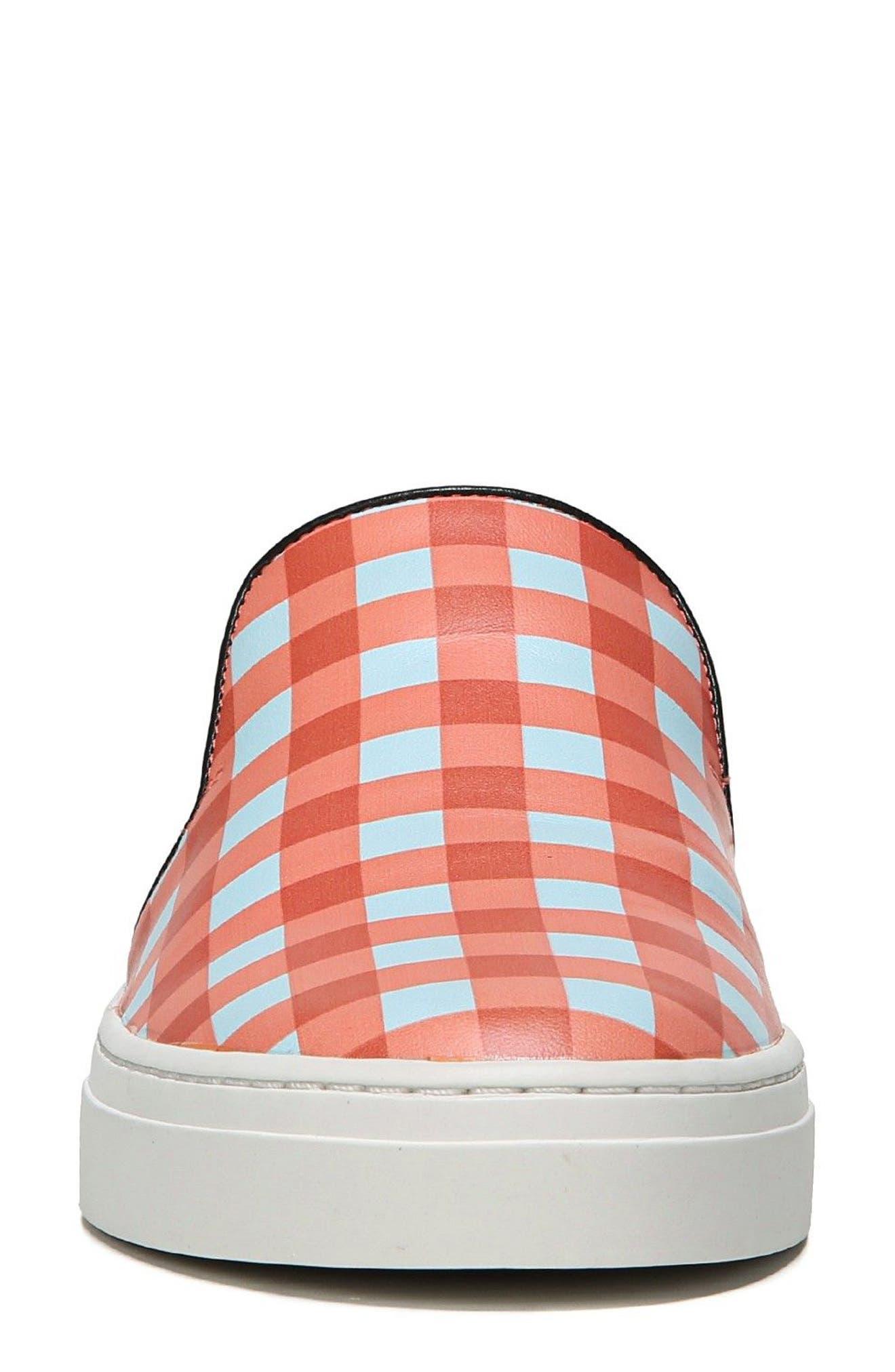 Budapest Slip-On Sneaker,                             Alternate thumbnail 4, color,                             Bold Red/ Black