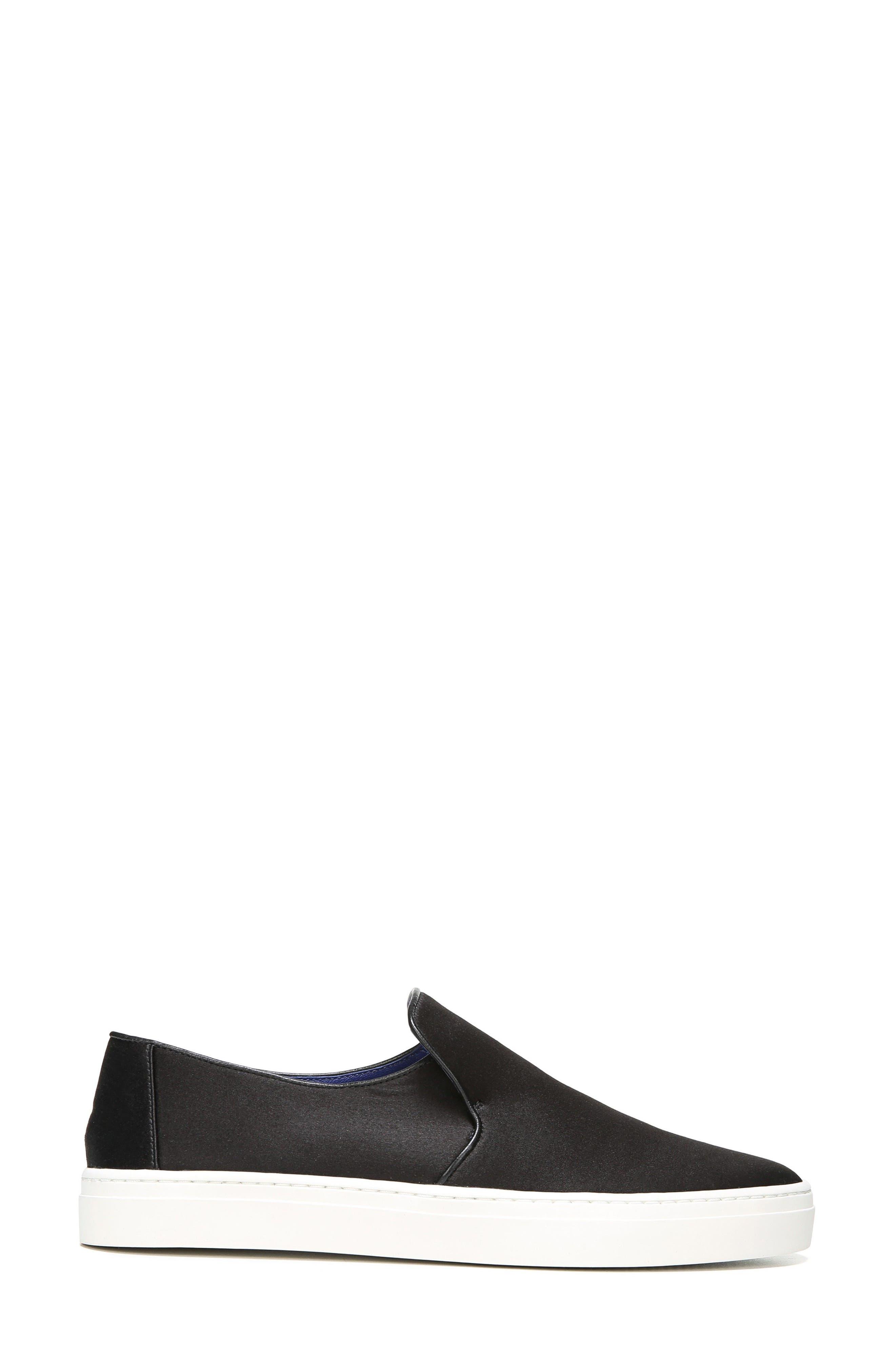 Budapest Slip-On Sneaker,                             Alternate thumbnail 3, color,                             Black