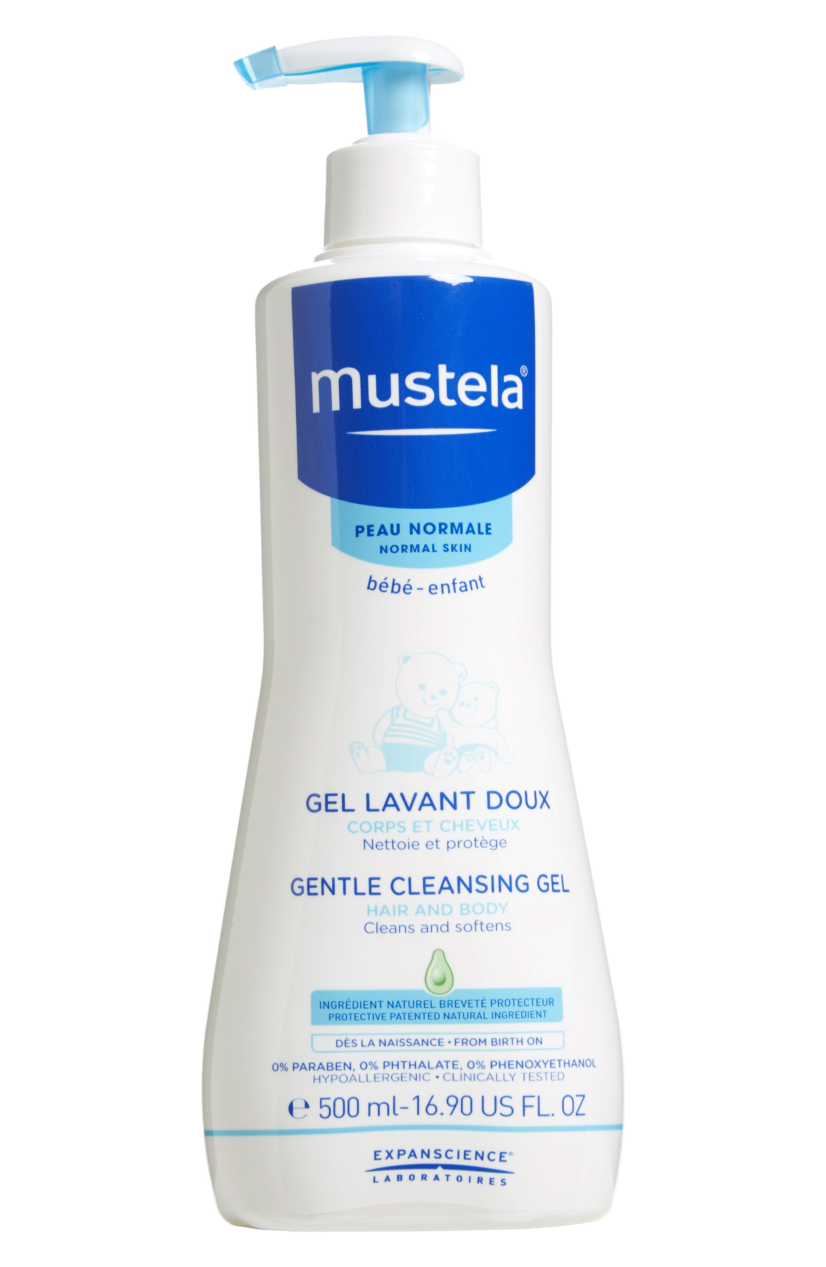 Main Image - Mustela® Gentle Cleansing Gel