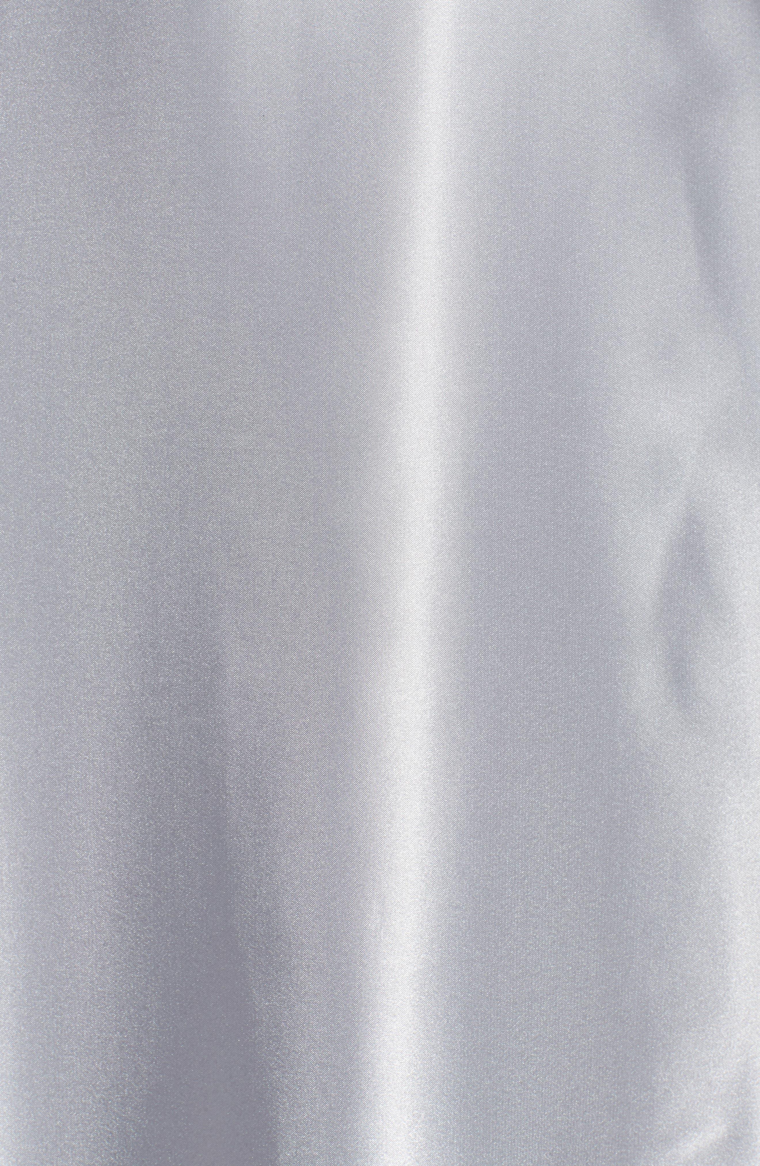 Alternate Image 5  - Alex Evenings Full Charmeuse Tea-Length Skirt (Plus Size)