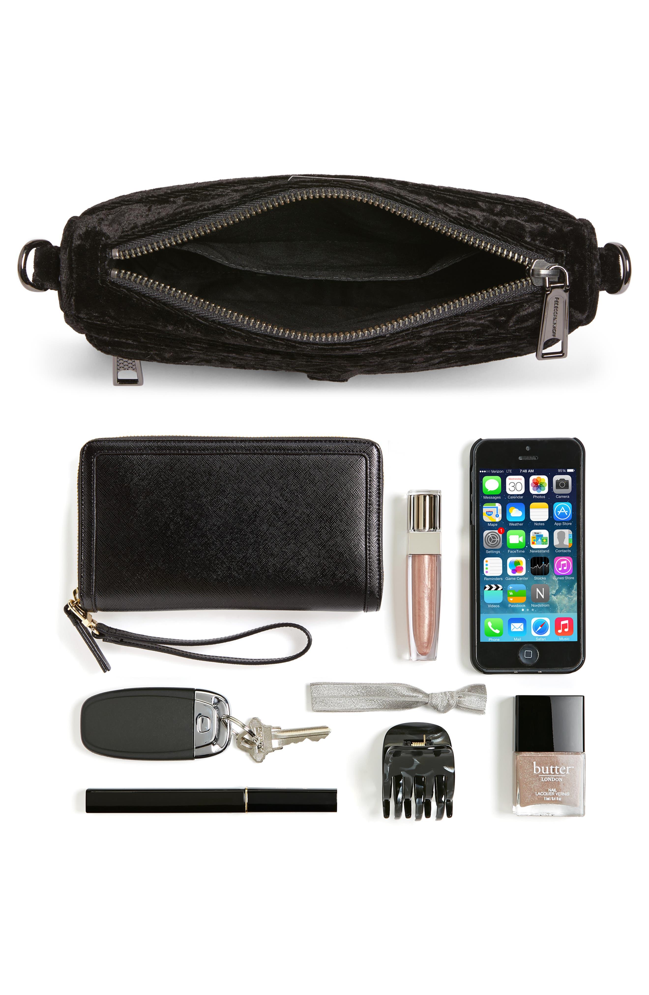 Alternate Image 7  - Rebecca Minkoff Mini MAC Velvet Convertible Crossbody Bag (Nordstrom Exclusive)