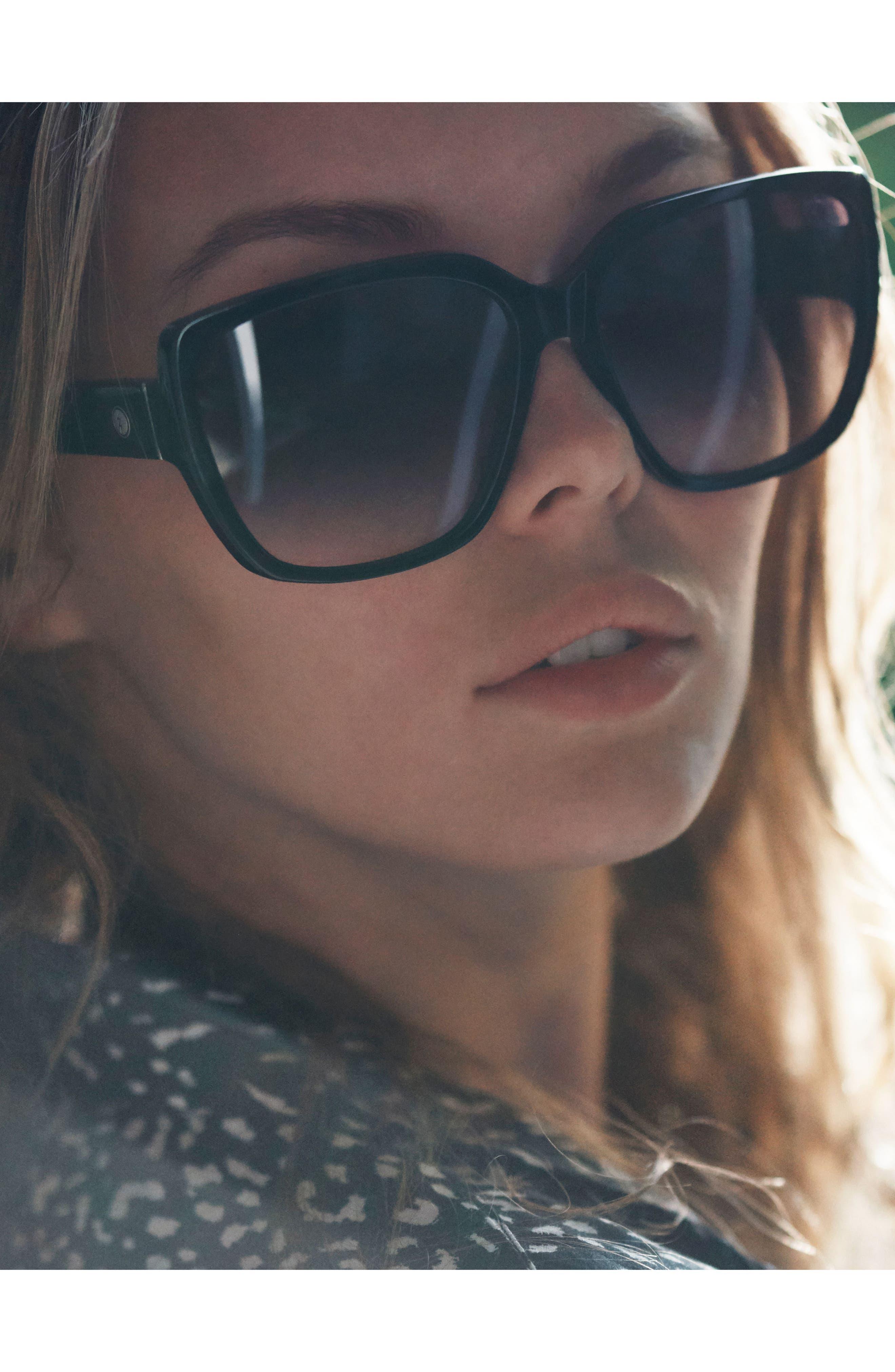 Alternate Image 5  - Electric Honey Bee 60mm Mirrored Sunglasses