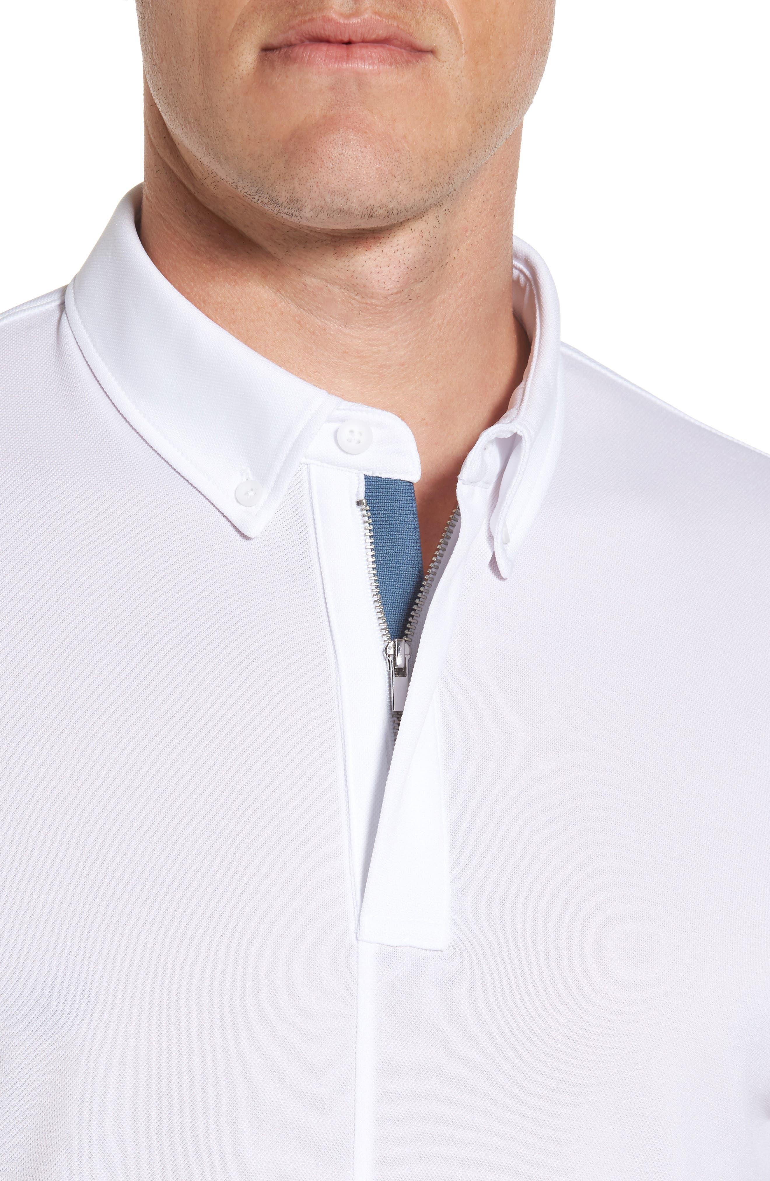 Alternate Image 4  - AG Eastridge Zip Placket Polo
