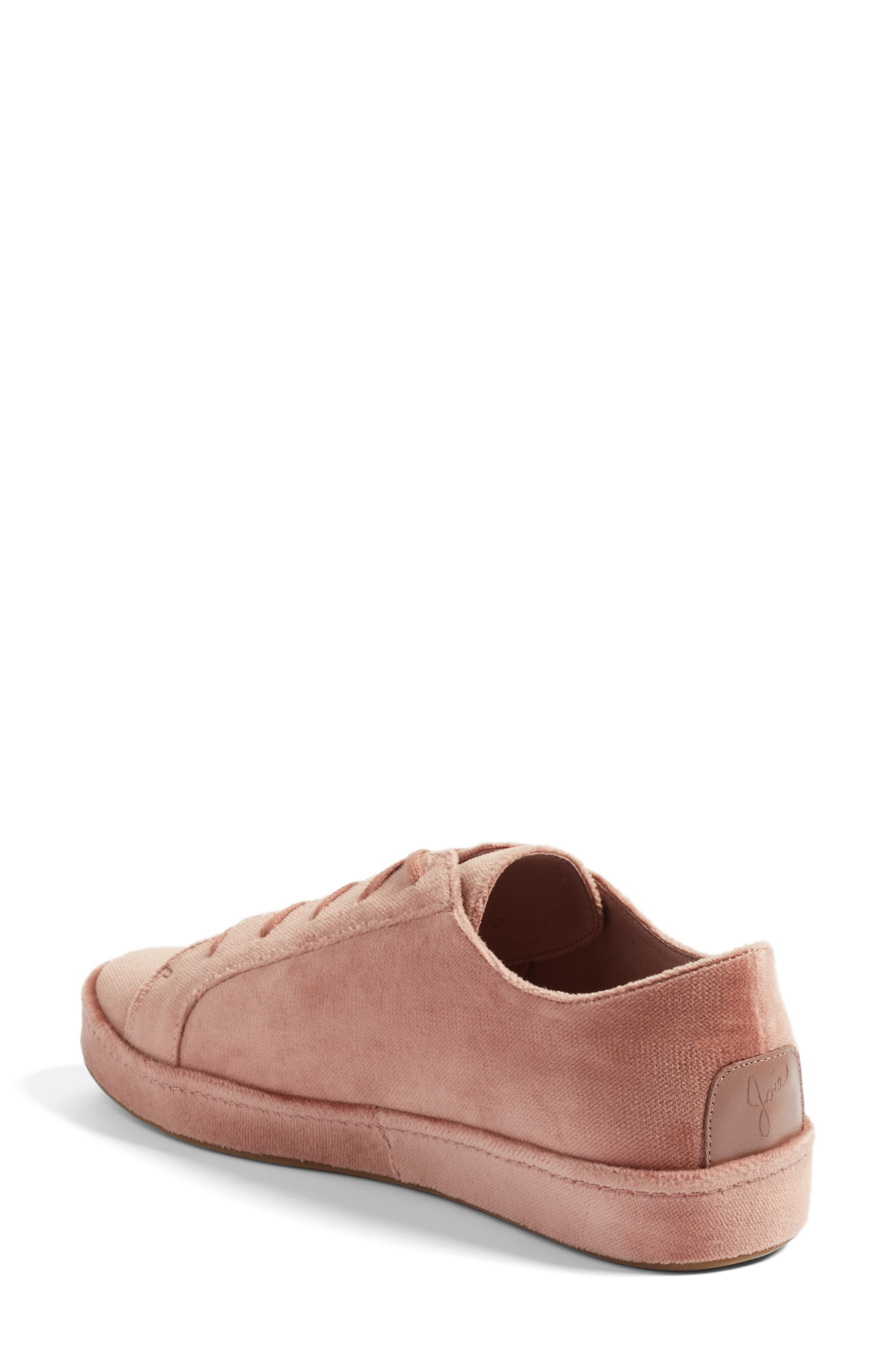 Daryl Low Top Sneaker,                             Alternate thumbnail 2, color,                             Light Mauve
