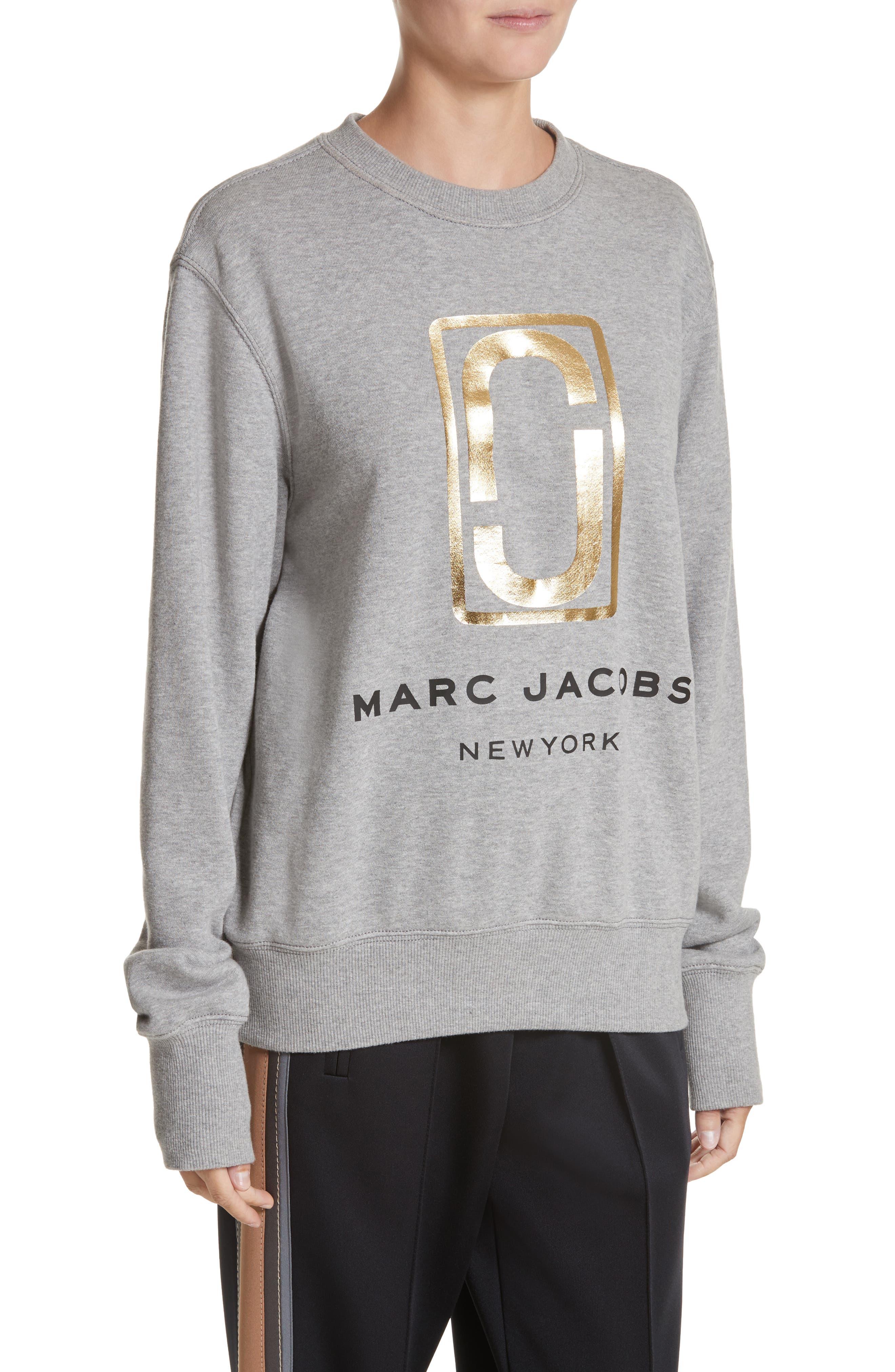 Alternate Image 4  - MARC JACOBS Logo Sweatshirt