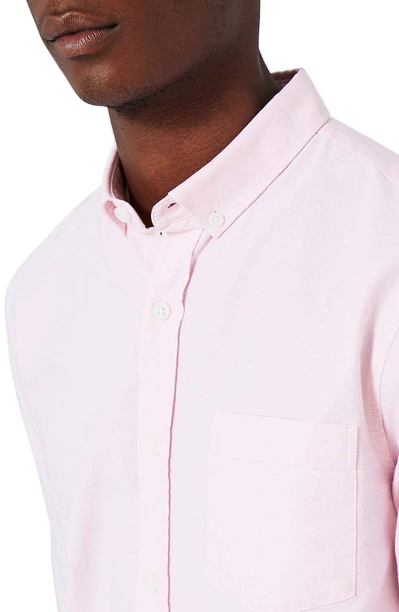 Alternate Image 4  - Topman Oxford Shirt