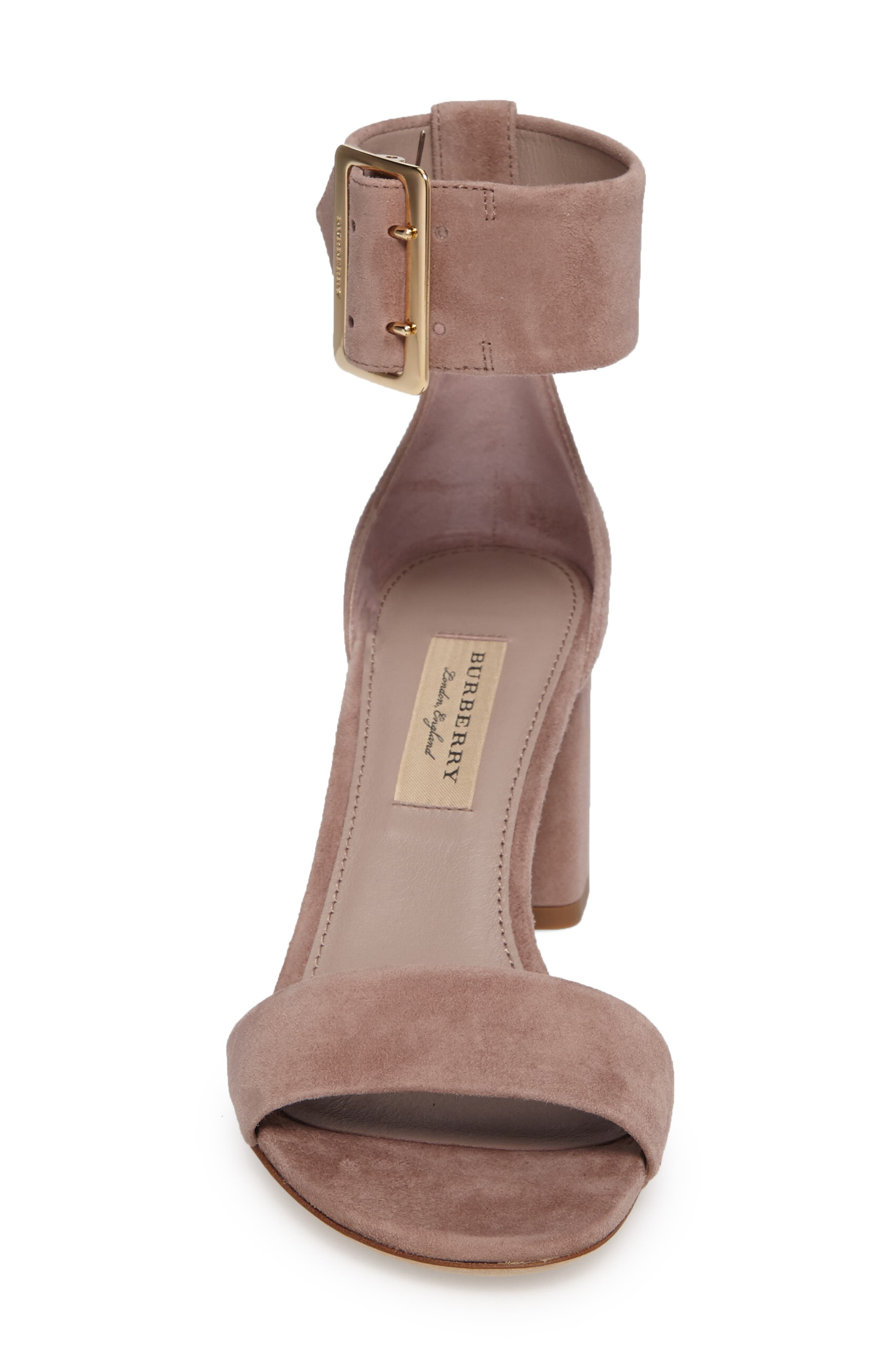Alternate Image 4  - Burberry Trench Buckle Sandal (Women)