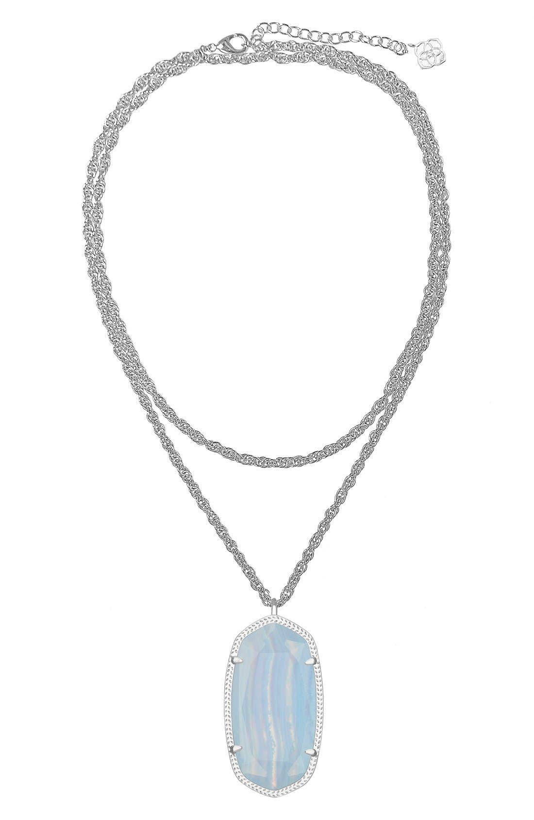 Alternate Image 1 Selected - Kendra Scott 'Rae' Long Pendant Necklace
